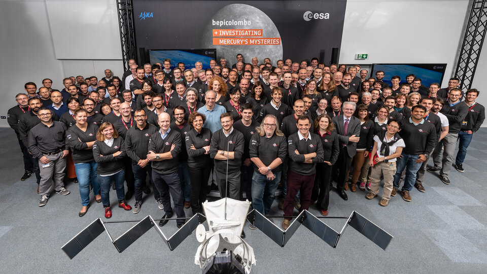 ESOC awaiting final countdown befor launch of BepiColombo