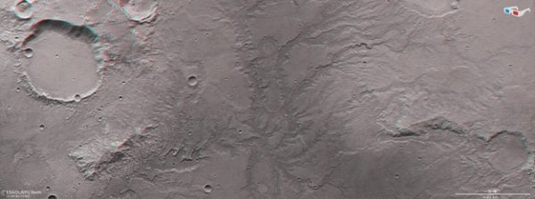 Signs of ancient flowing water on Mars / Mars Express ...