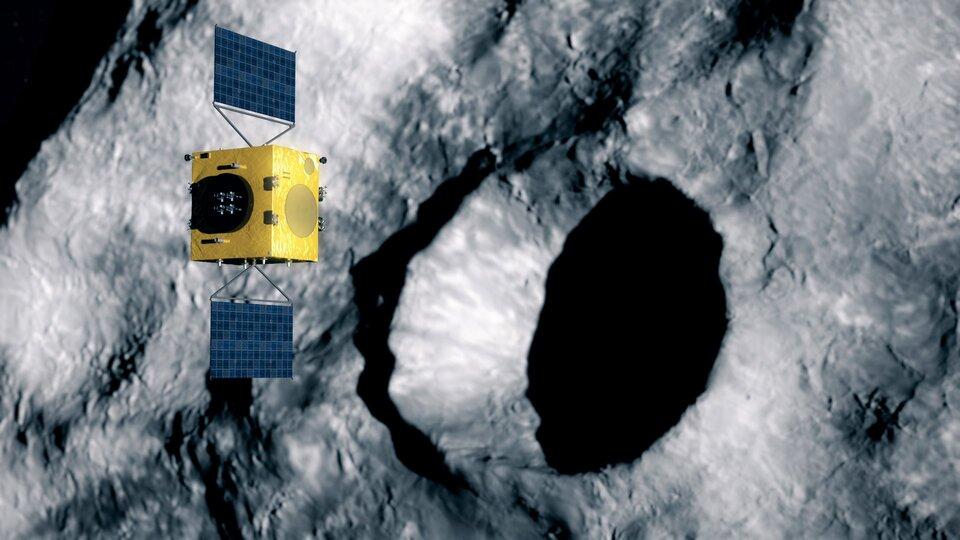 Hera examina a cratera de impacto do DART