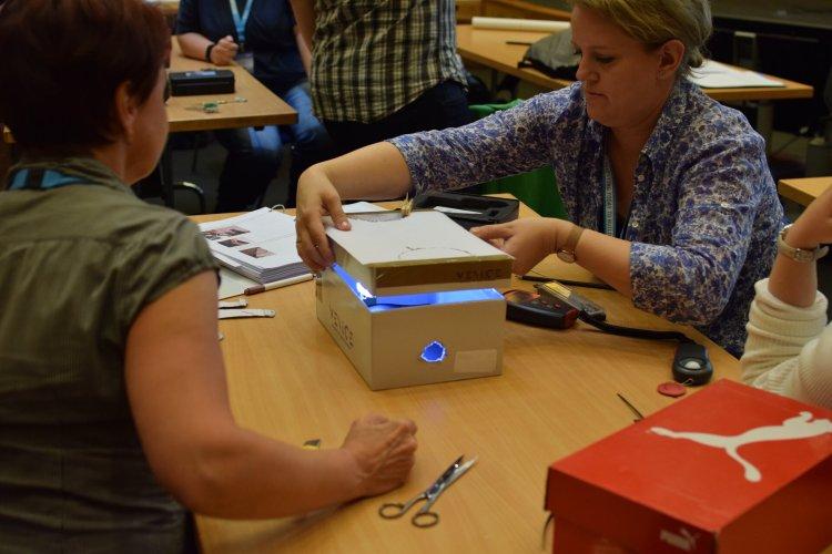 Teachers exploring exoplanets