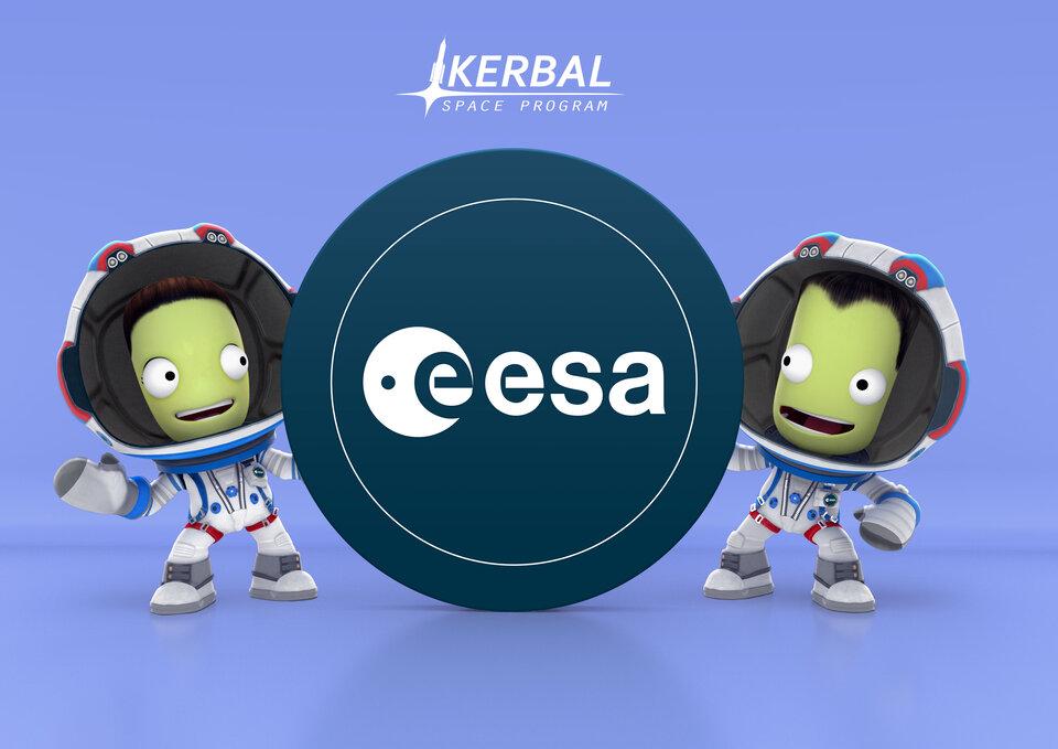 Kerbal and ESA partnership launch