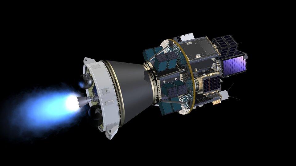 Vários satélites partilham viagem para o espaço no dispensador SSMS