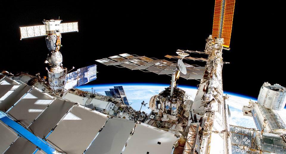 Space Station stitch