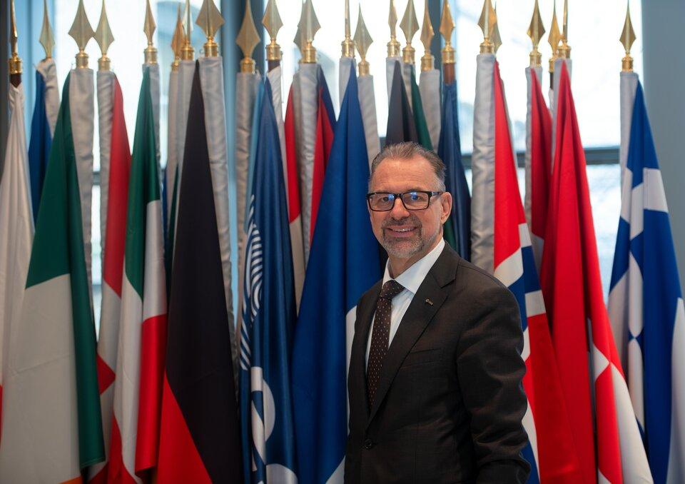ESA Director General Josef Aschbacher