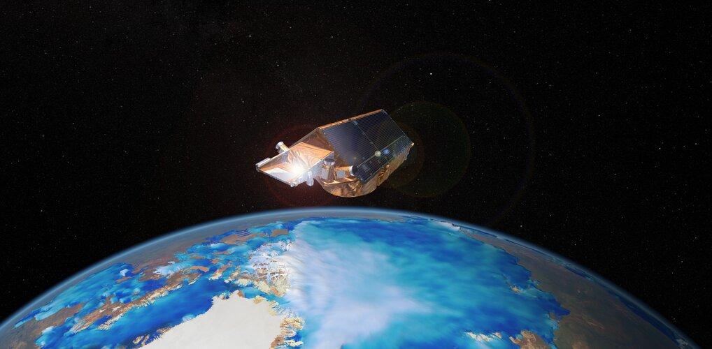 CryoSat key to measuring sea-ice thickness