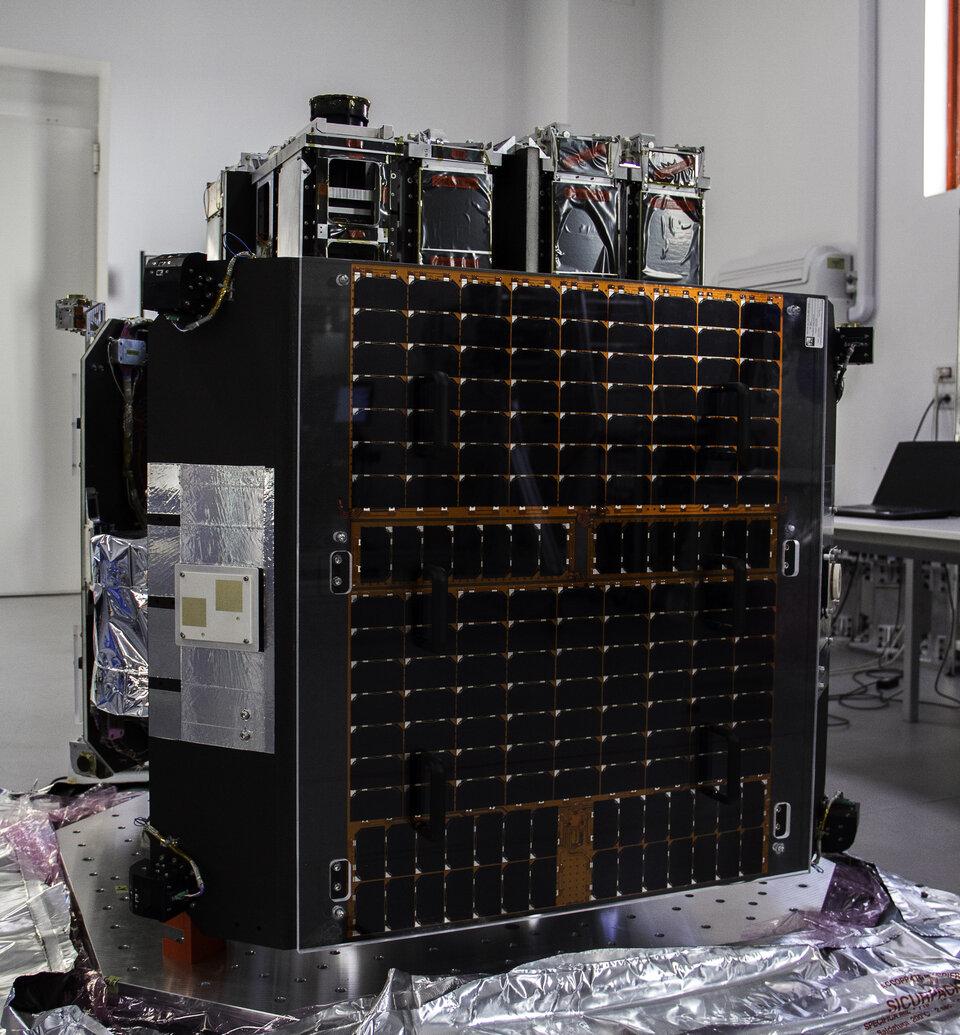 O ION Satellite Carrier da D-Orbit é um sistema de transporte flexível em órbita