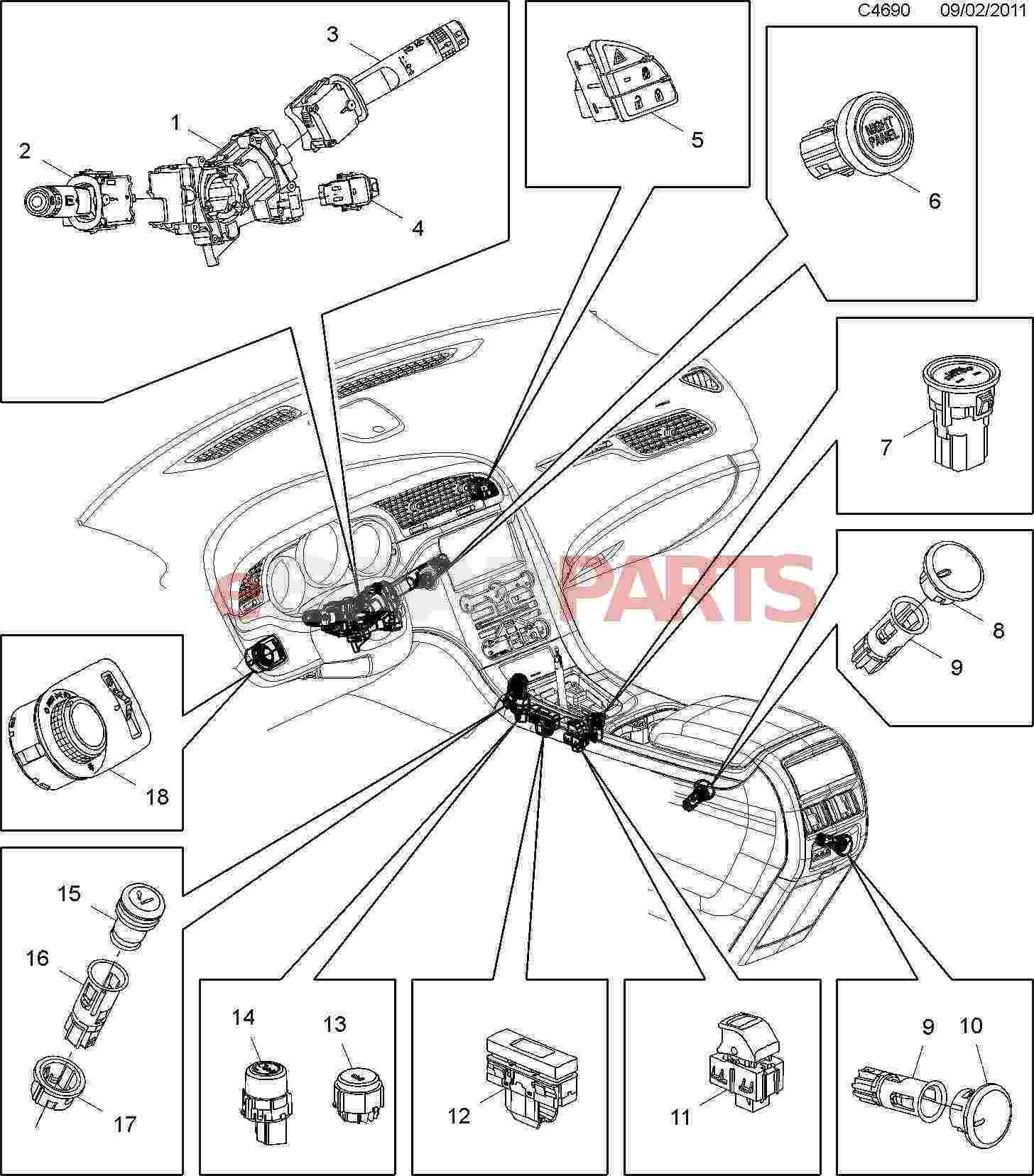 Cigarette Lighter Receptacle Wiring Diagram
