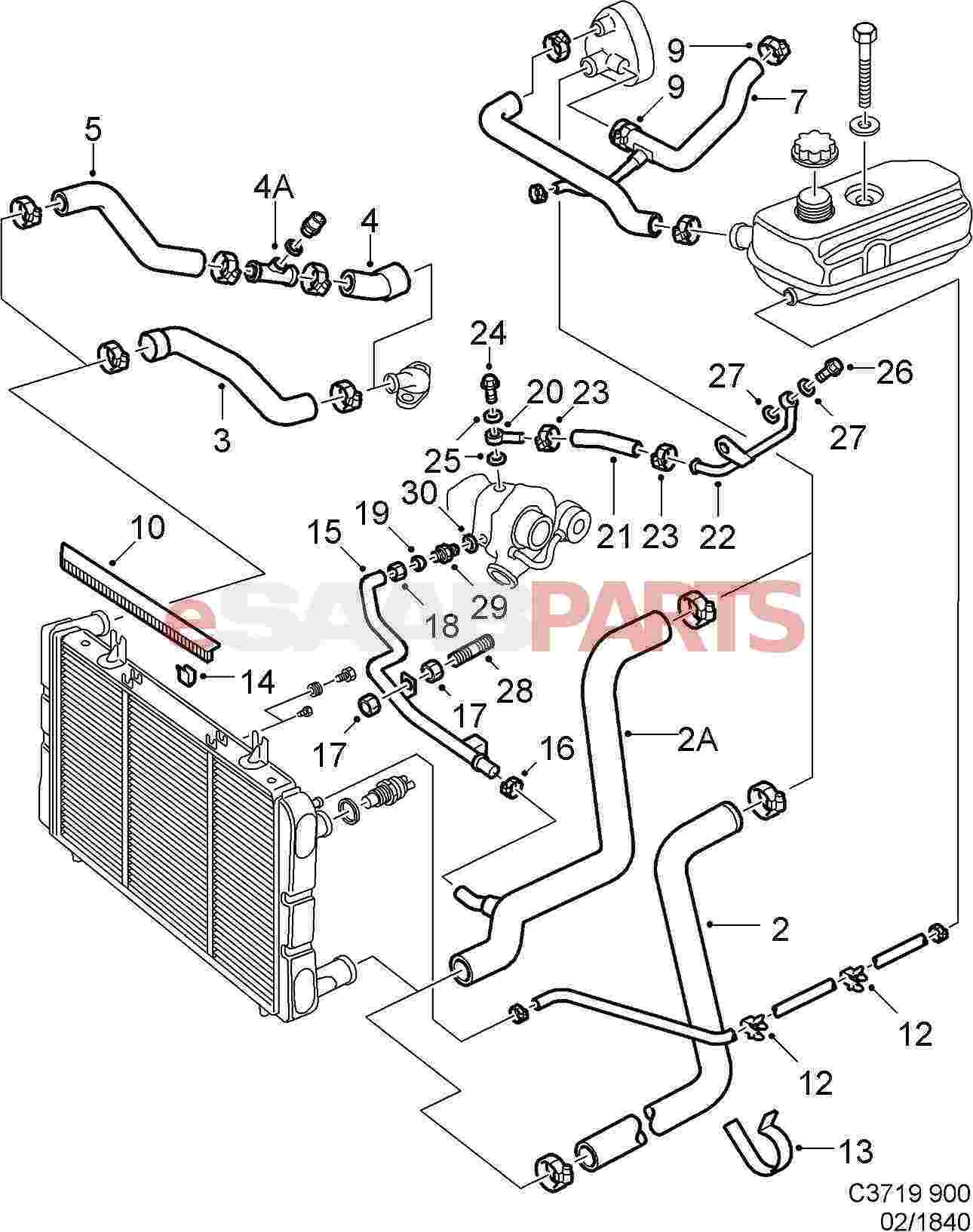 Esaabparts 1998 saab 900 engine diagram esaabparts saab 900 \u003e engine parts \