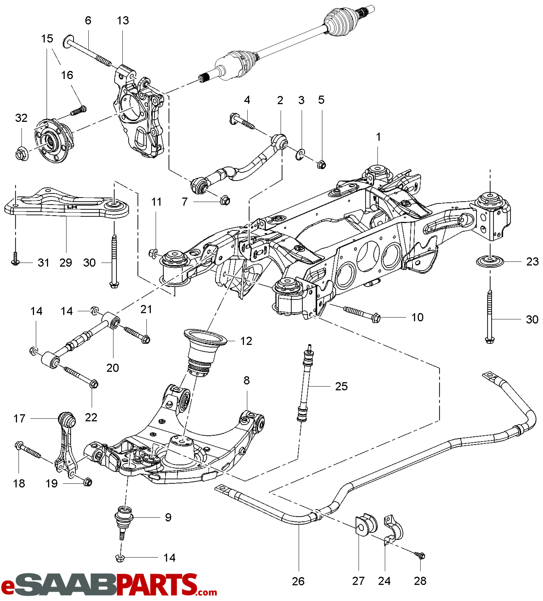 Bmw 318i Suspension Diagram