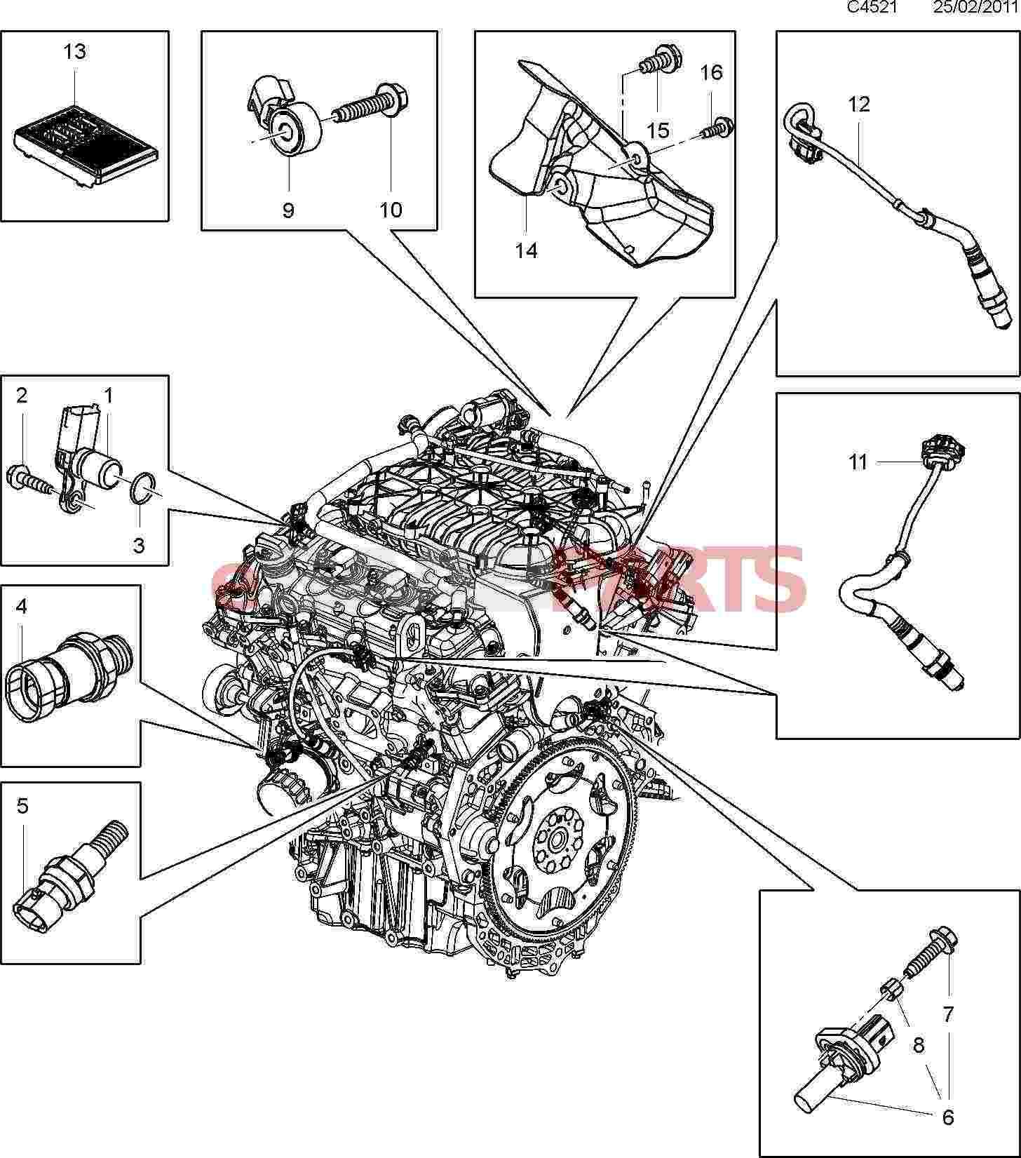 Saab Crank Position Sensor Cps