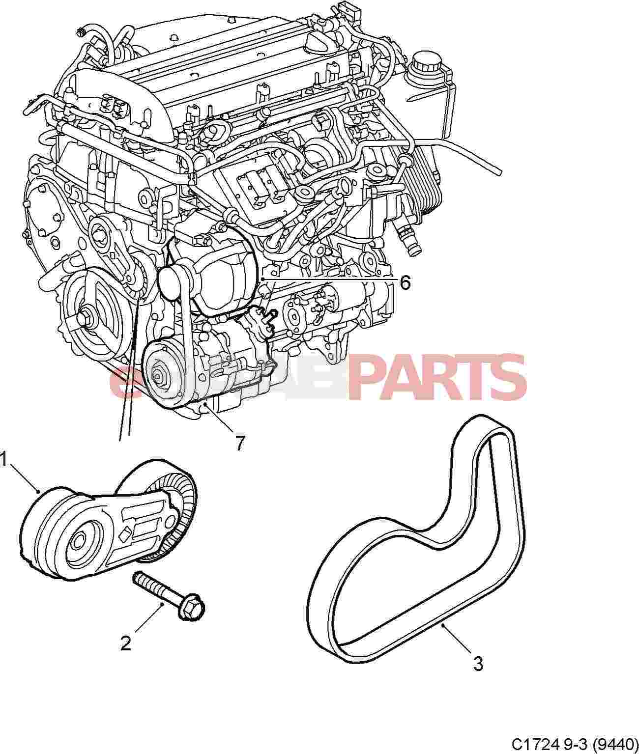 Serpentine Belt Diagram For Ls2