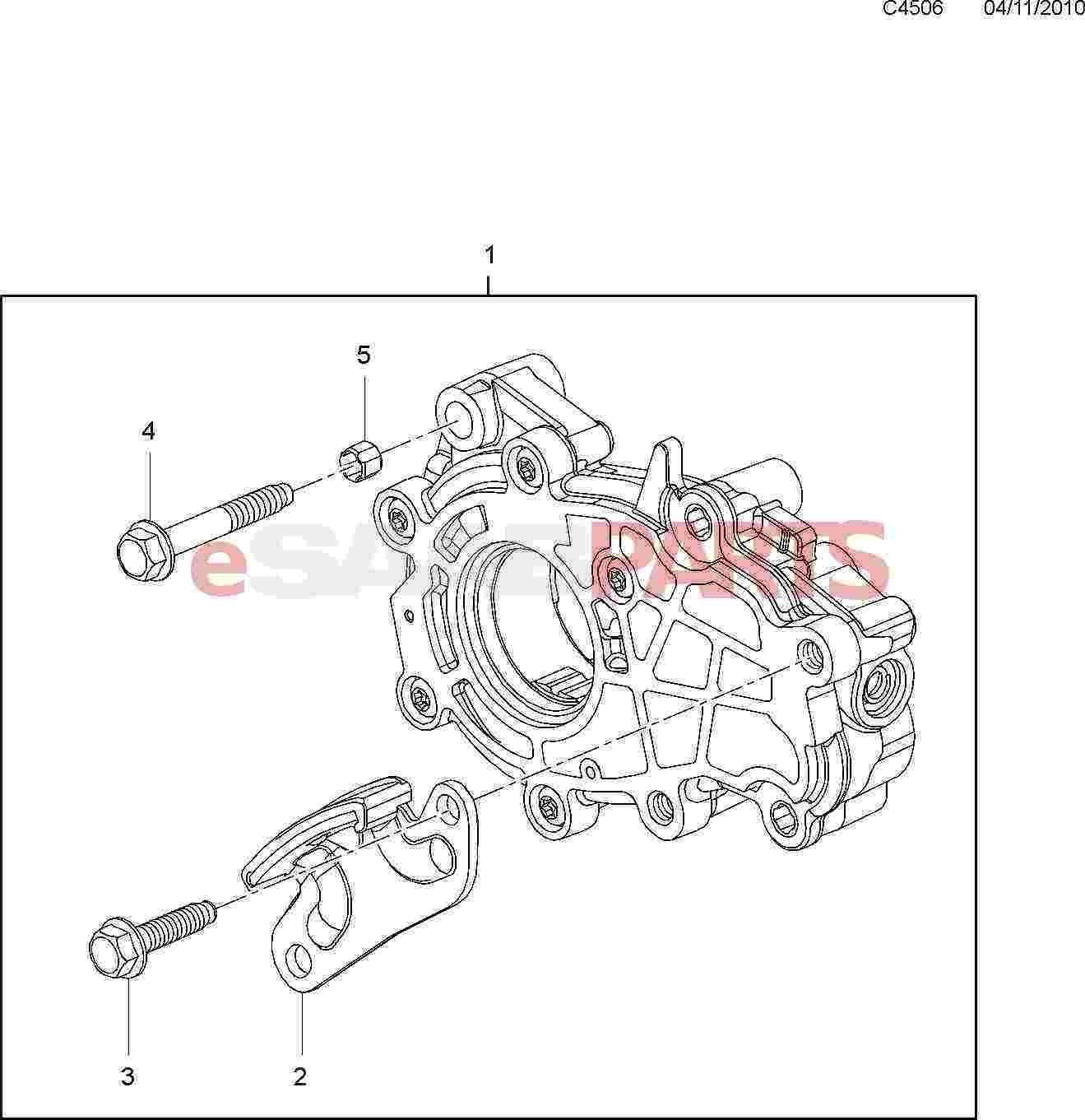 Saab Oil Pump