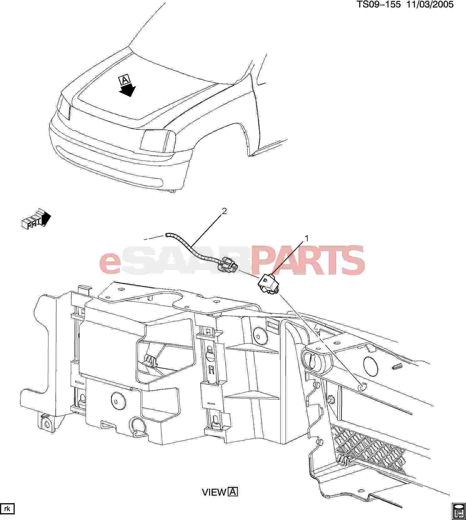 Saab Sensor Amb Air Temp Ga