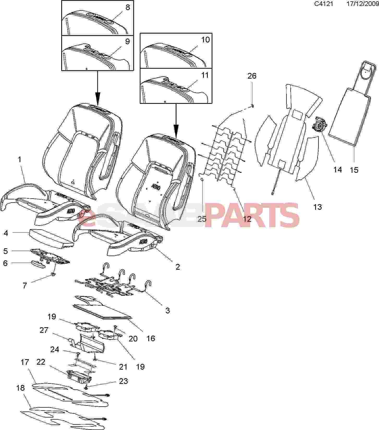Wrg Saab 9 5 Seat Heater Wiring