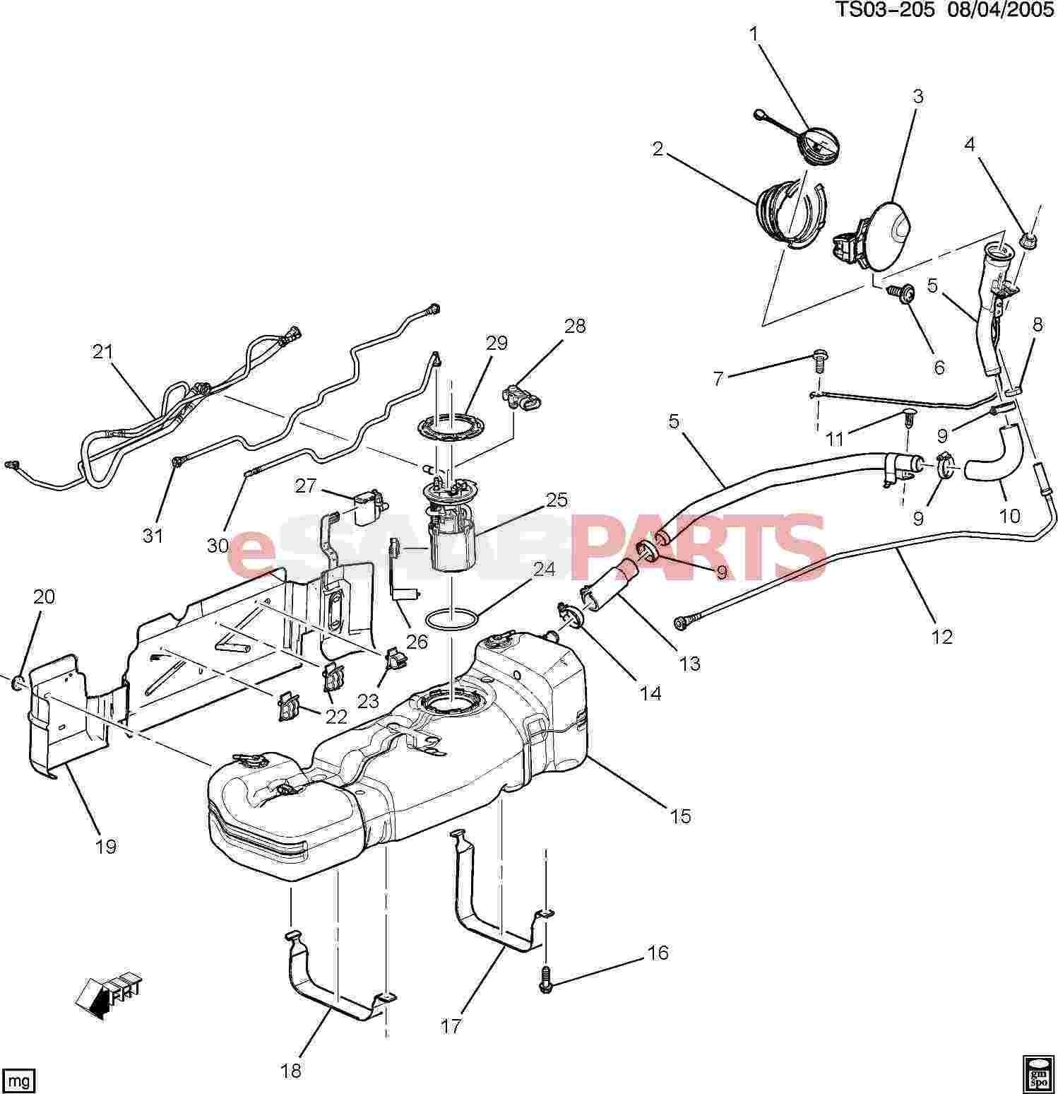 Chevy Trailblazer Power Steering Diagram