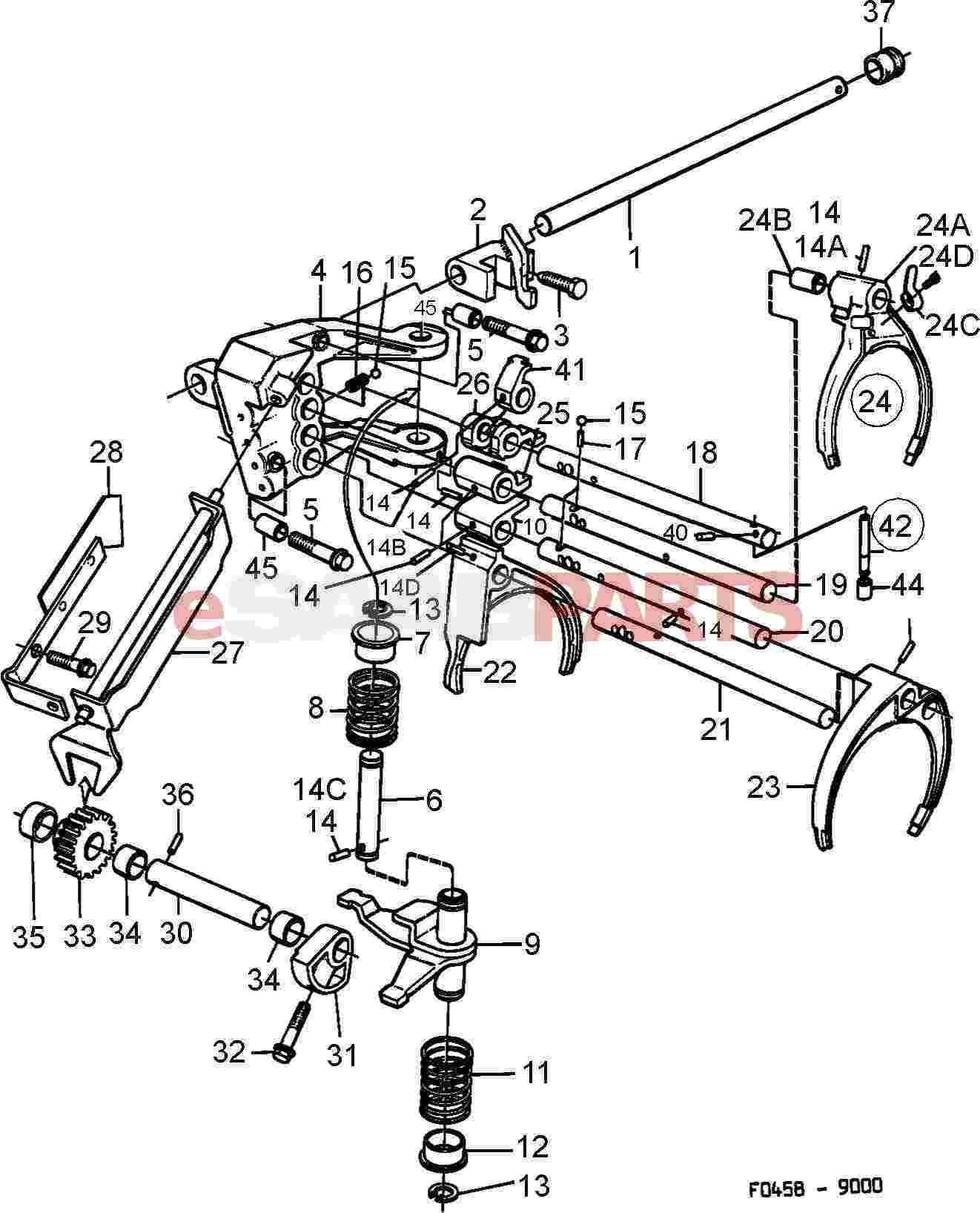 Saab Roll Pin