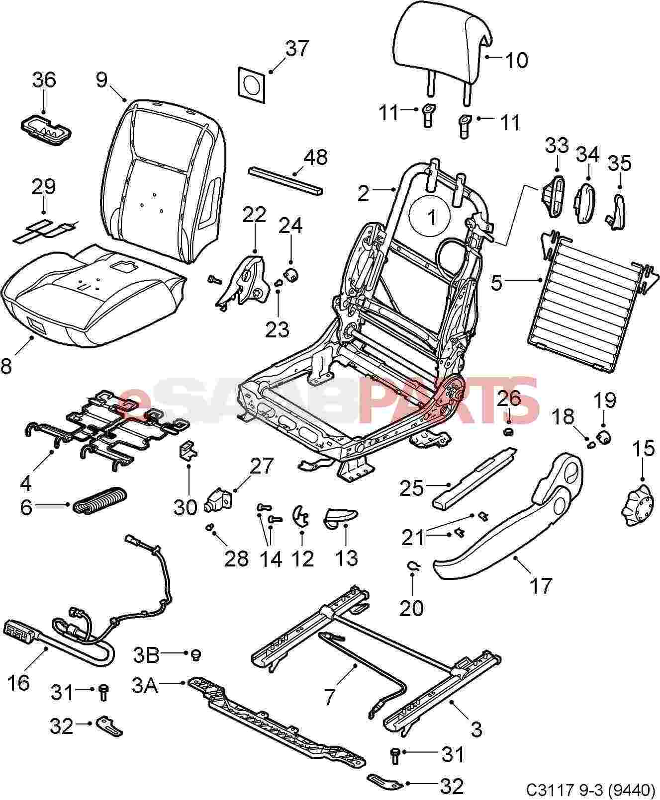 P38 Seat Wiring Diagram
