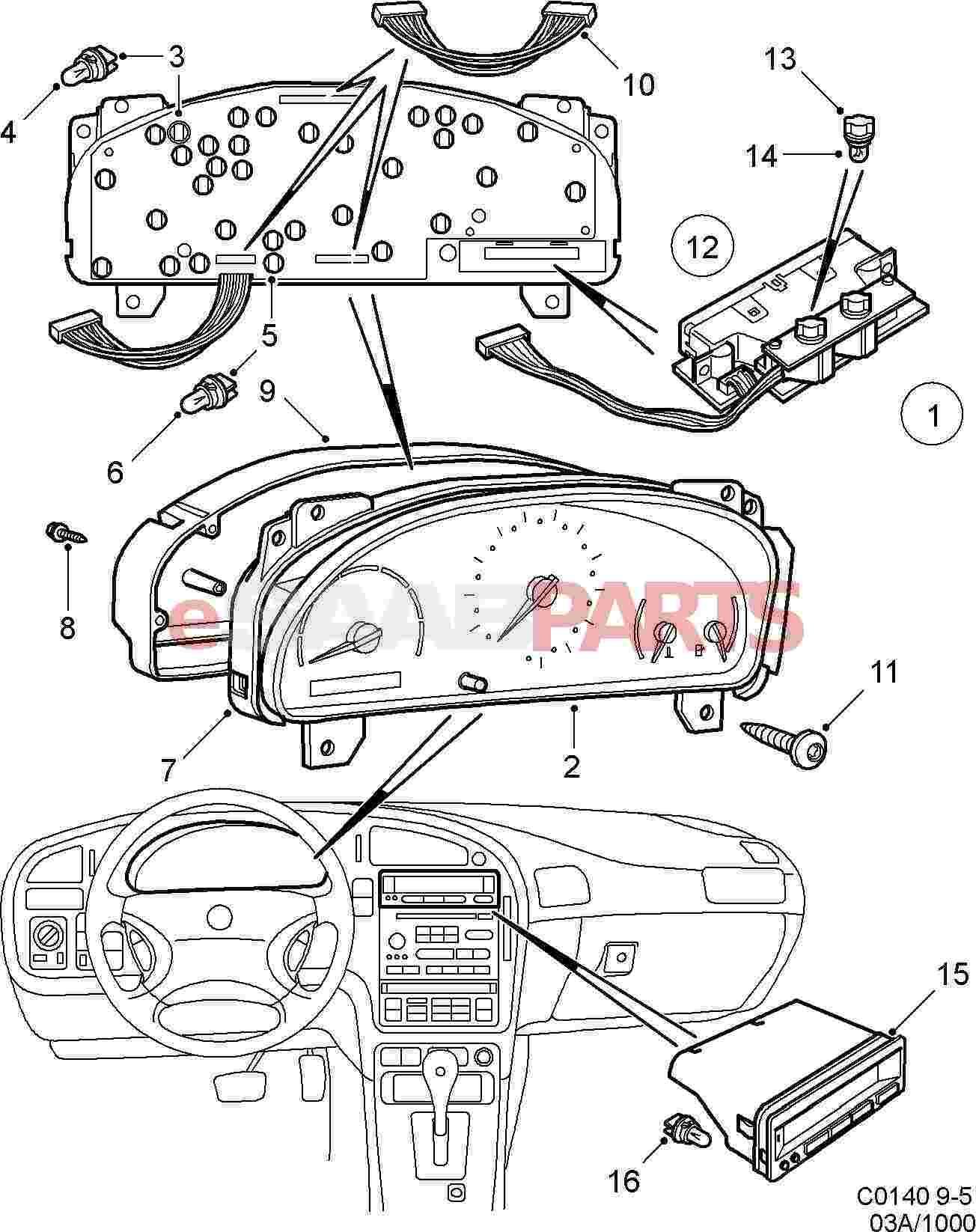 Saab Bulb Socket