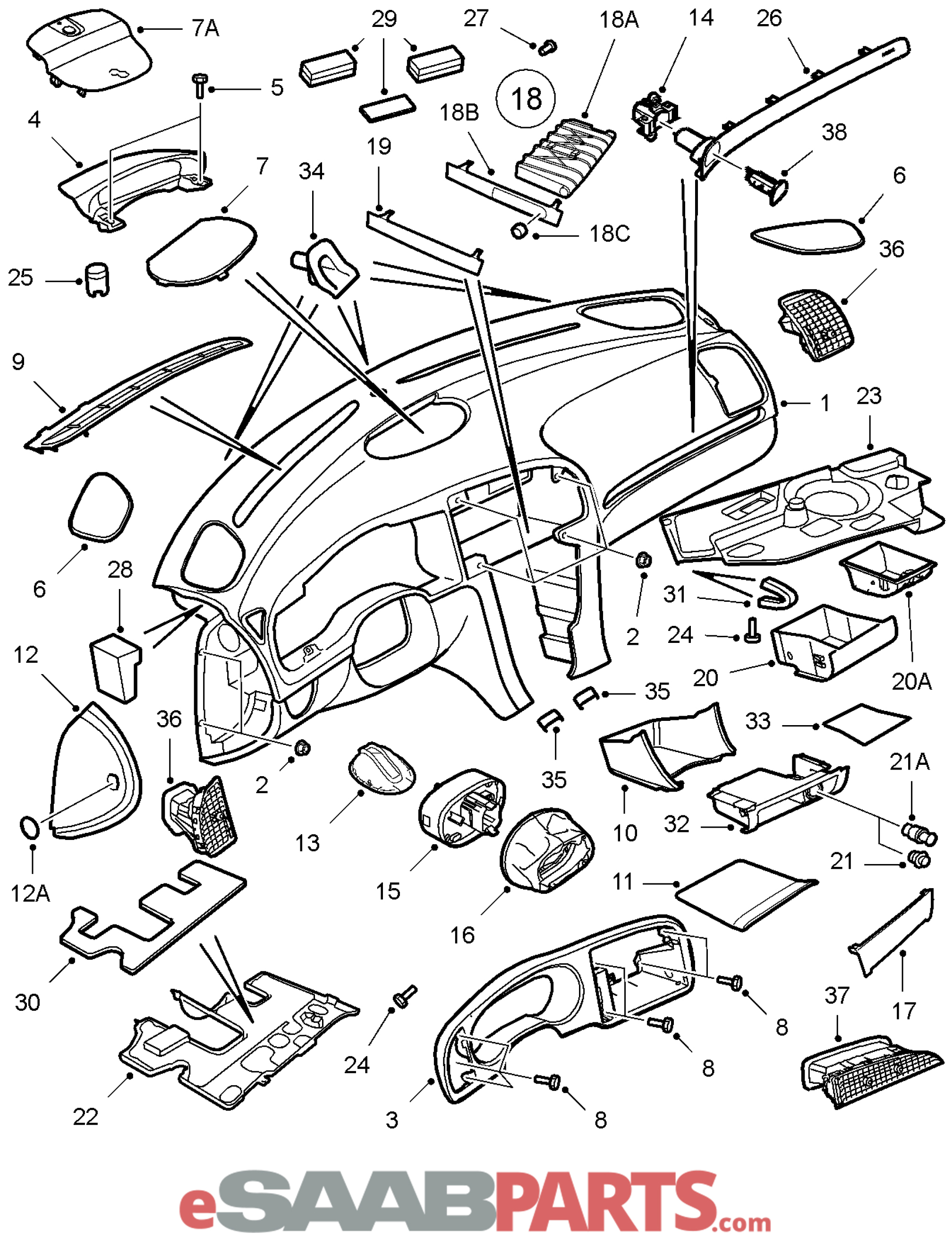 Wagon Harness Components