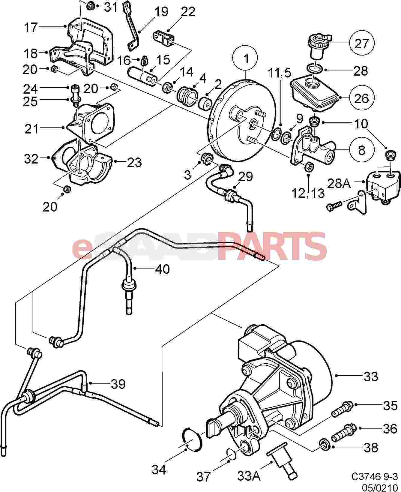 Saab 9 5 Engine Diagram