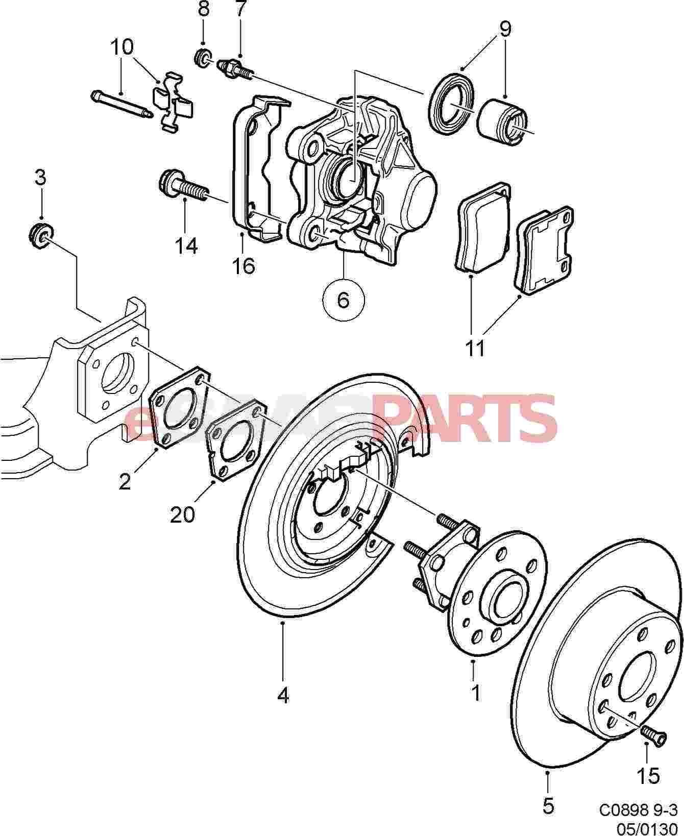 Saab 900 Wiring Diagram