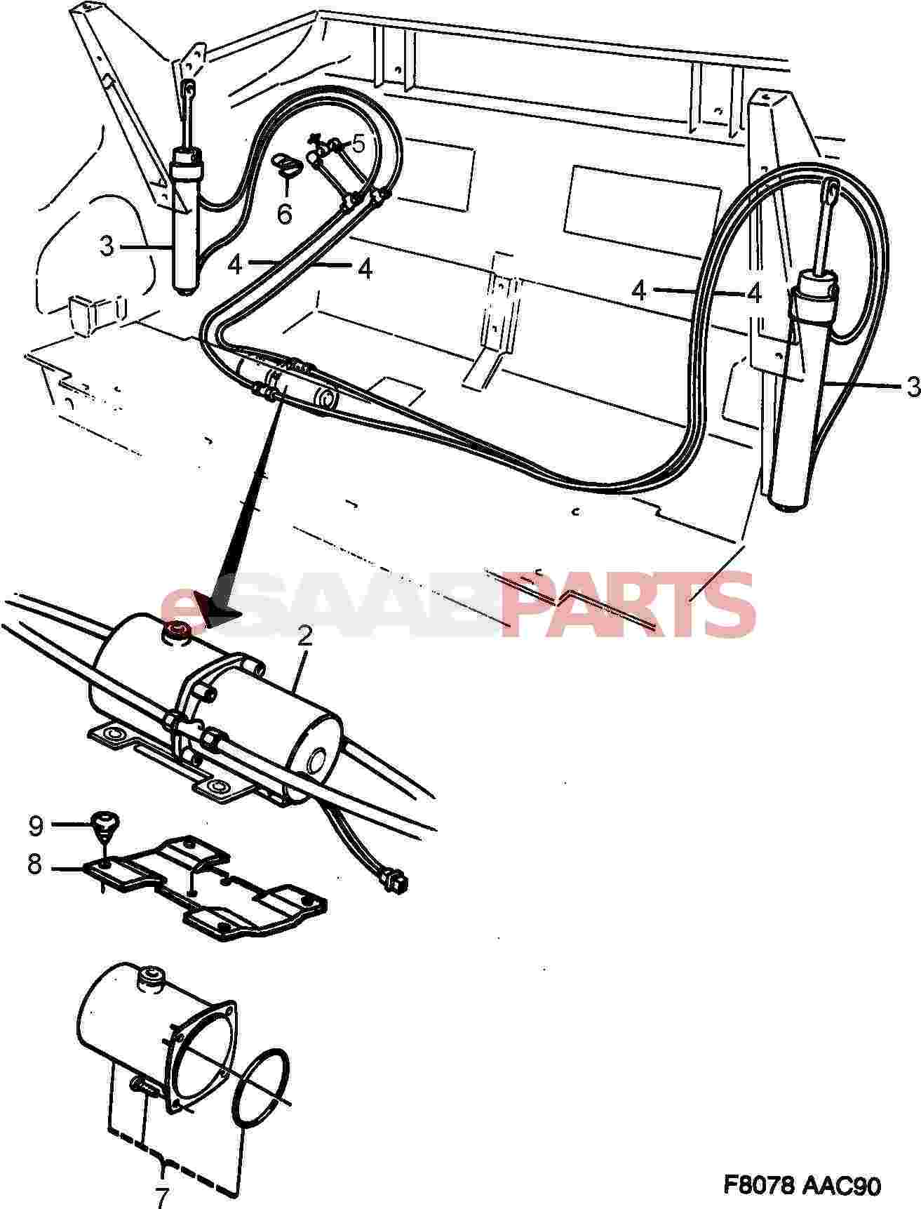 saab 9 3 aircon wiring diagram