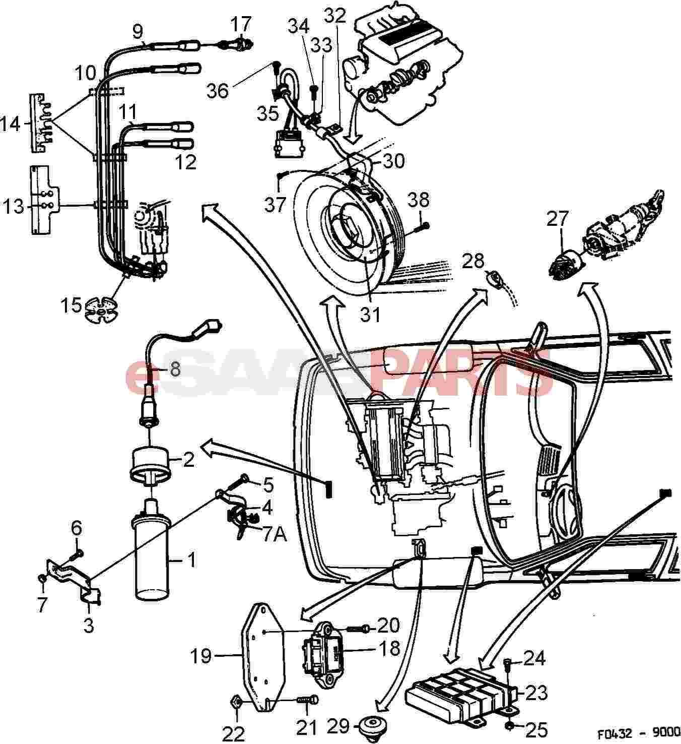 Saab 9 3 Cooling Diagram