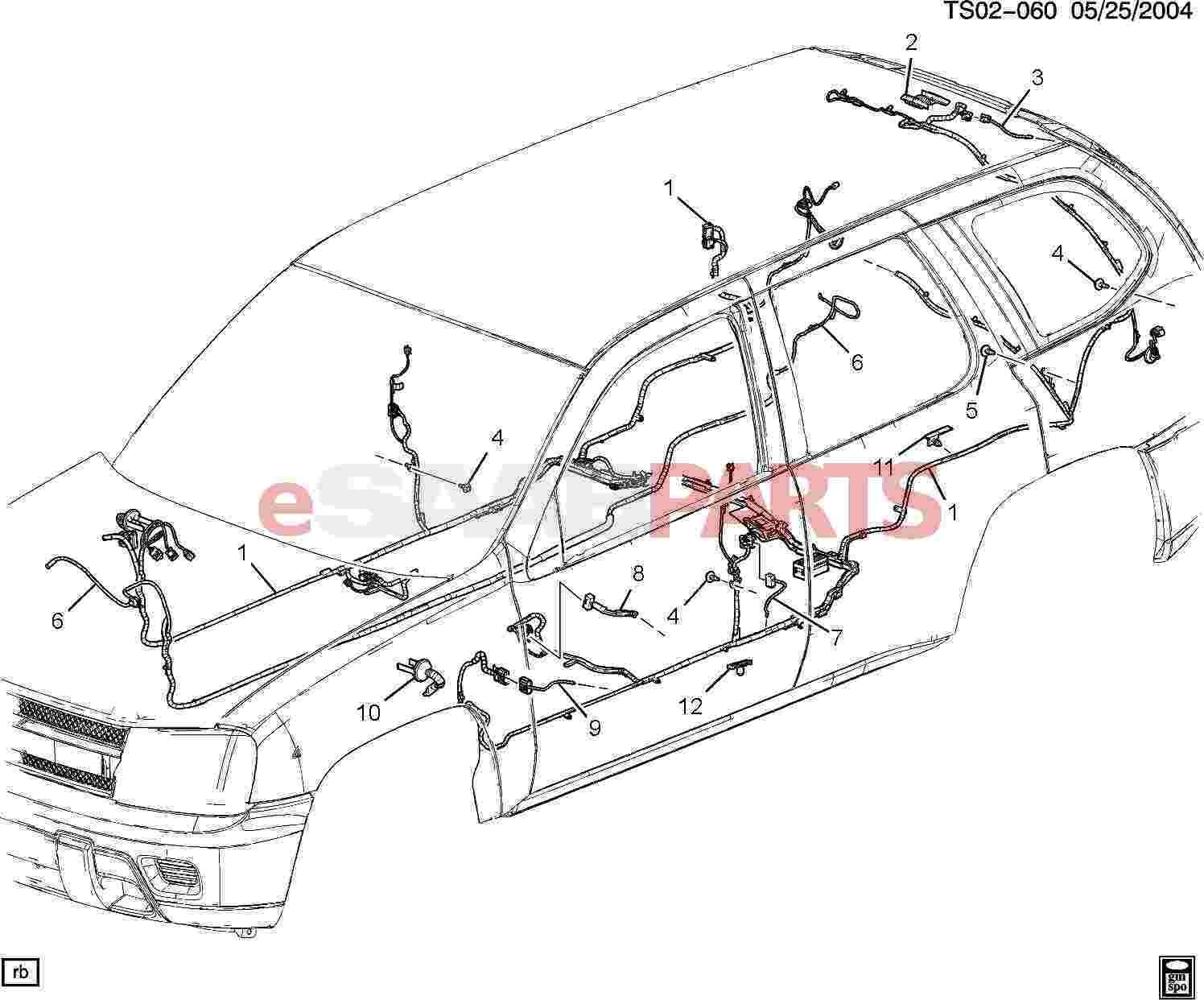 Saab Harness Body Wrg