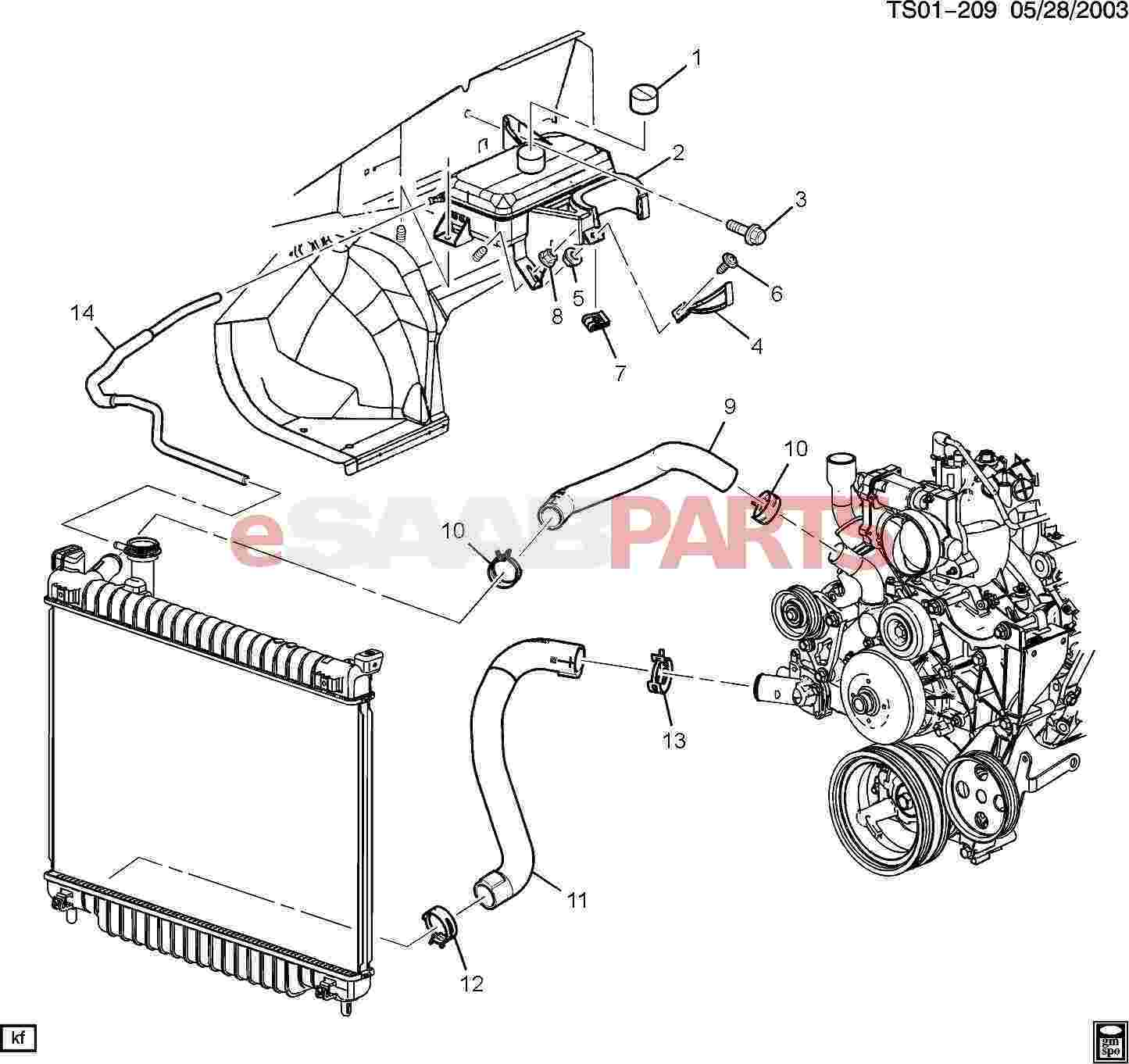 Saab Engine Cooling Diagram