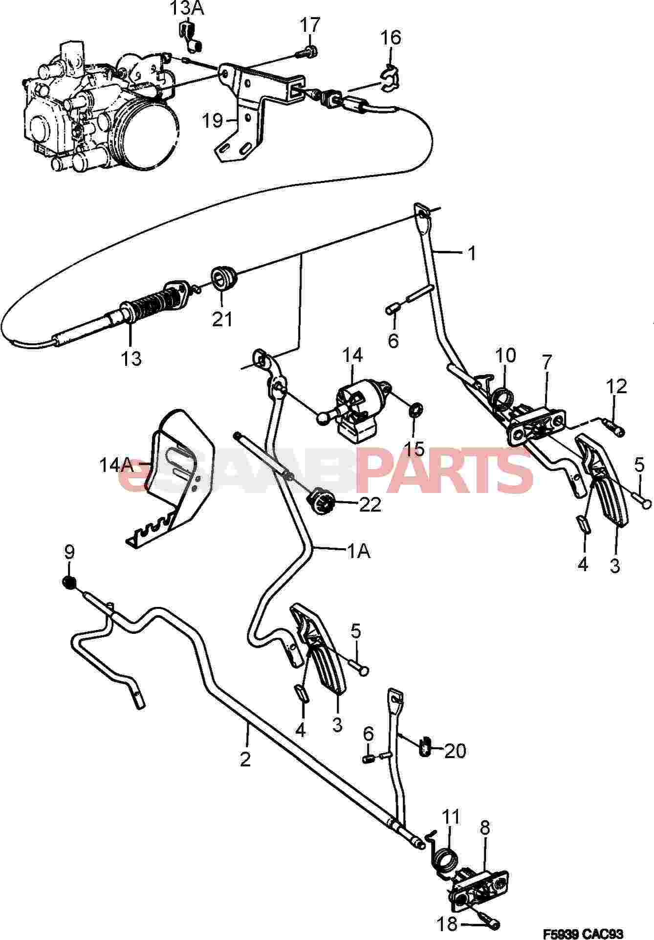Saab Pedal Sensor