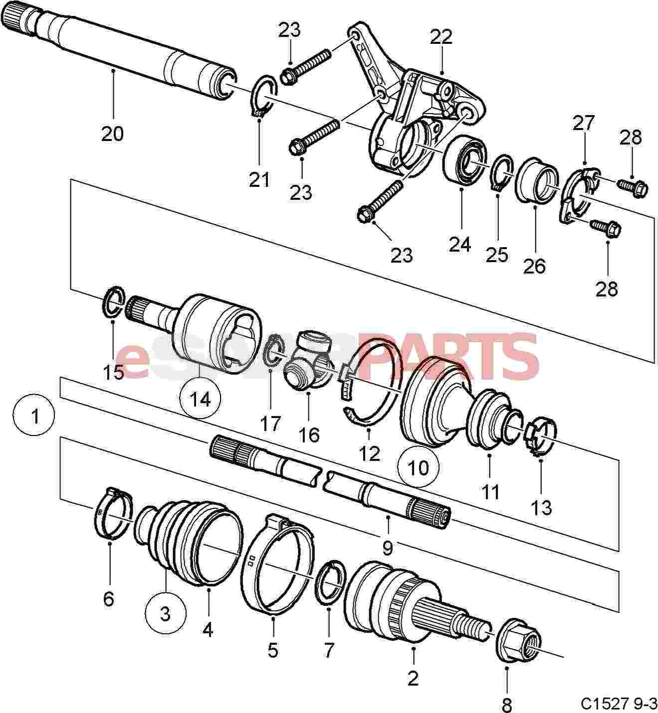 Nissan Cube Suspension Diagram