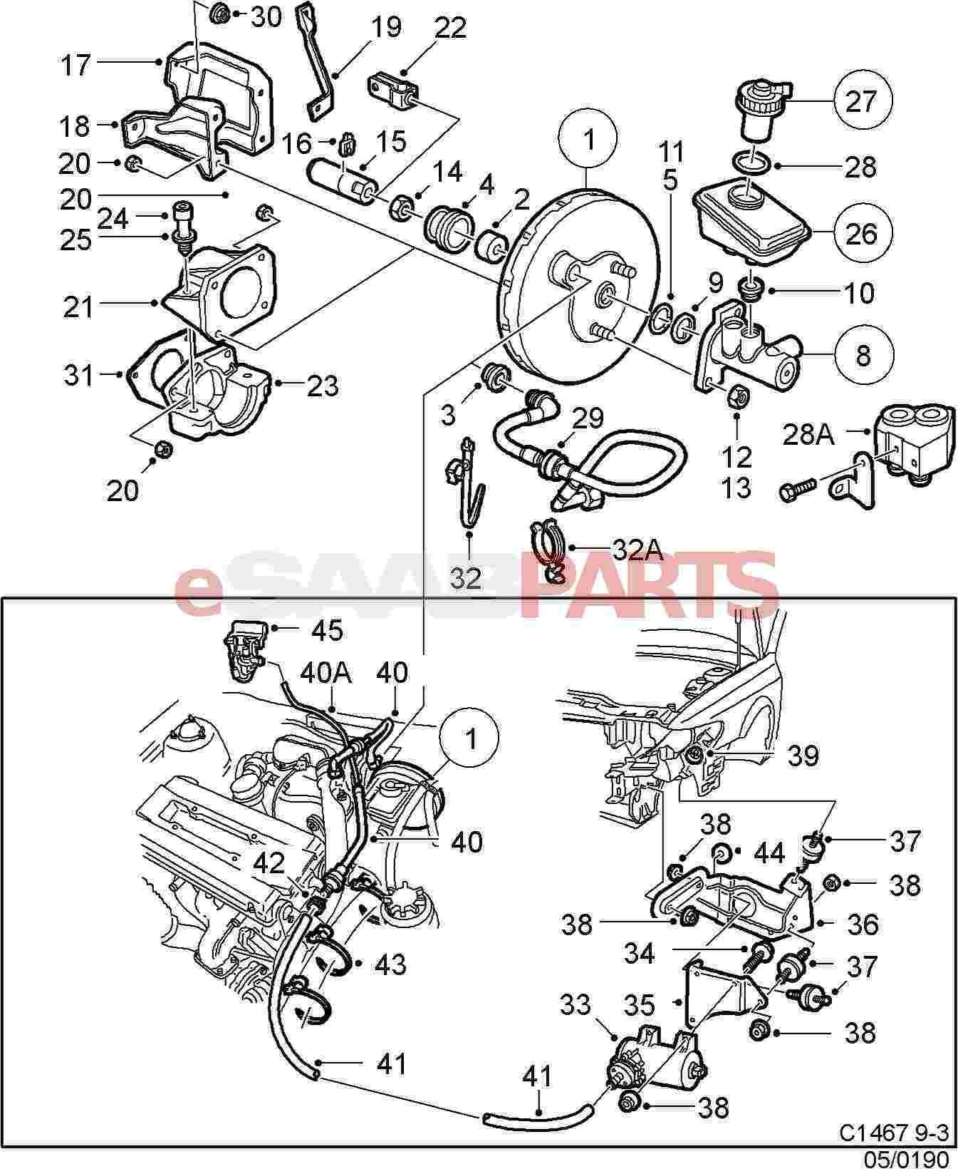 Saab Brake Fluid Cap