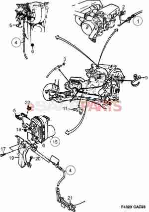 Saab 1999 9 5 Turbo Electrical System Diagram