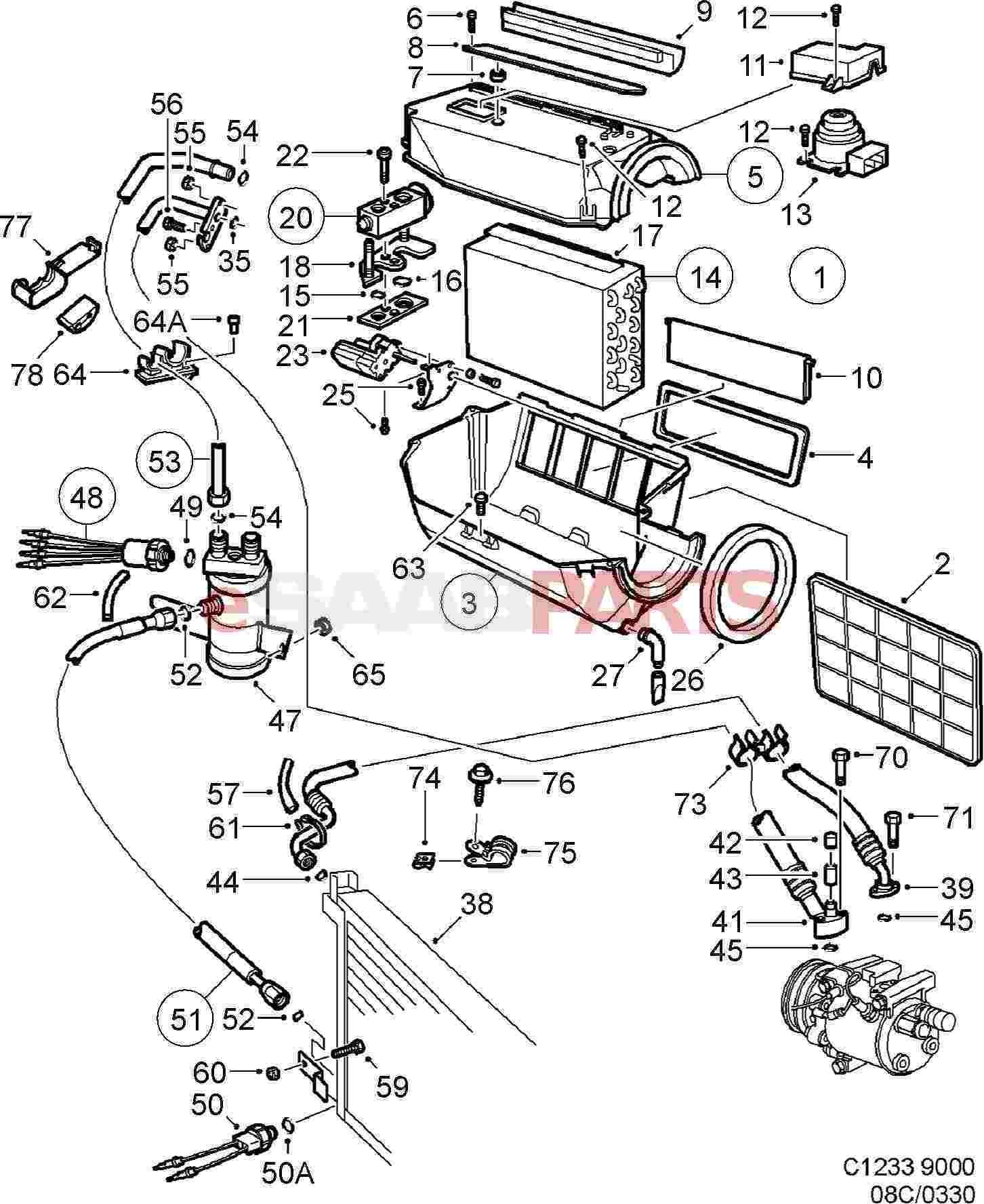 Wrg Saab Air Conditioning Wiring Diagram