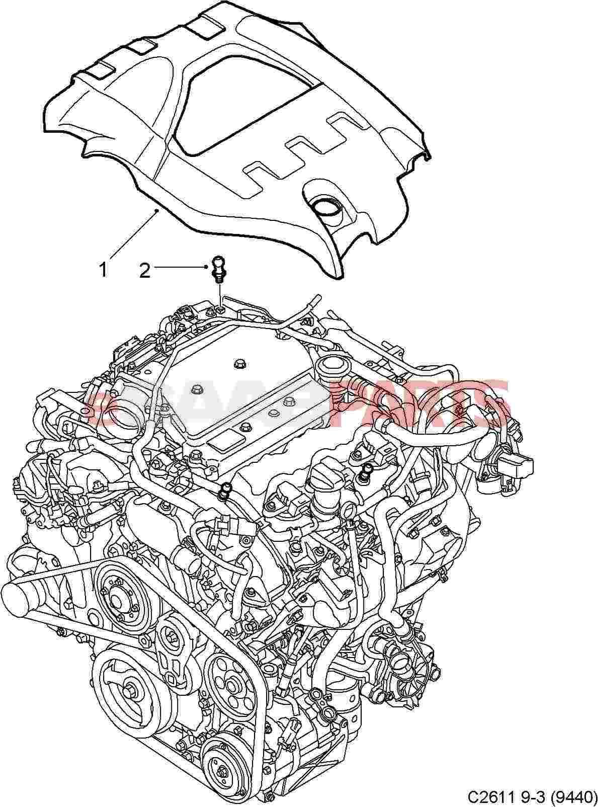 Saab 9 3 2003 Turbo Diagram