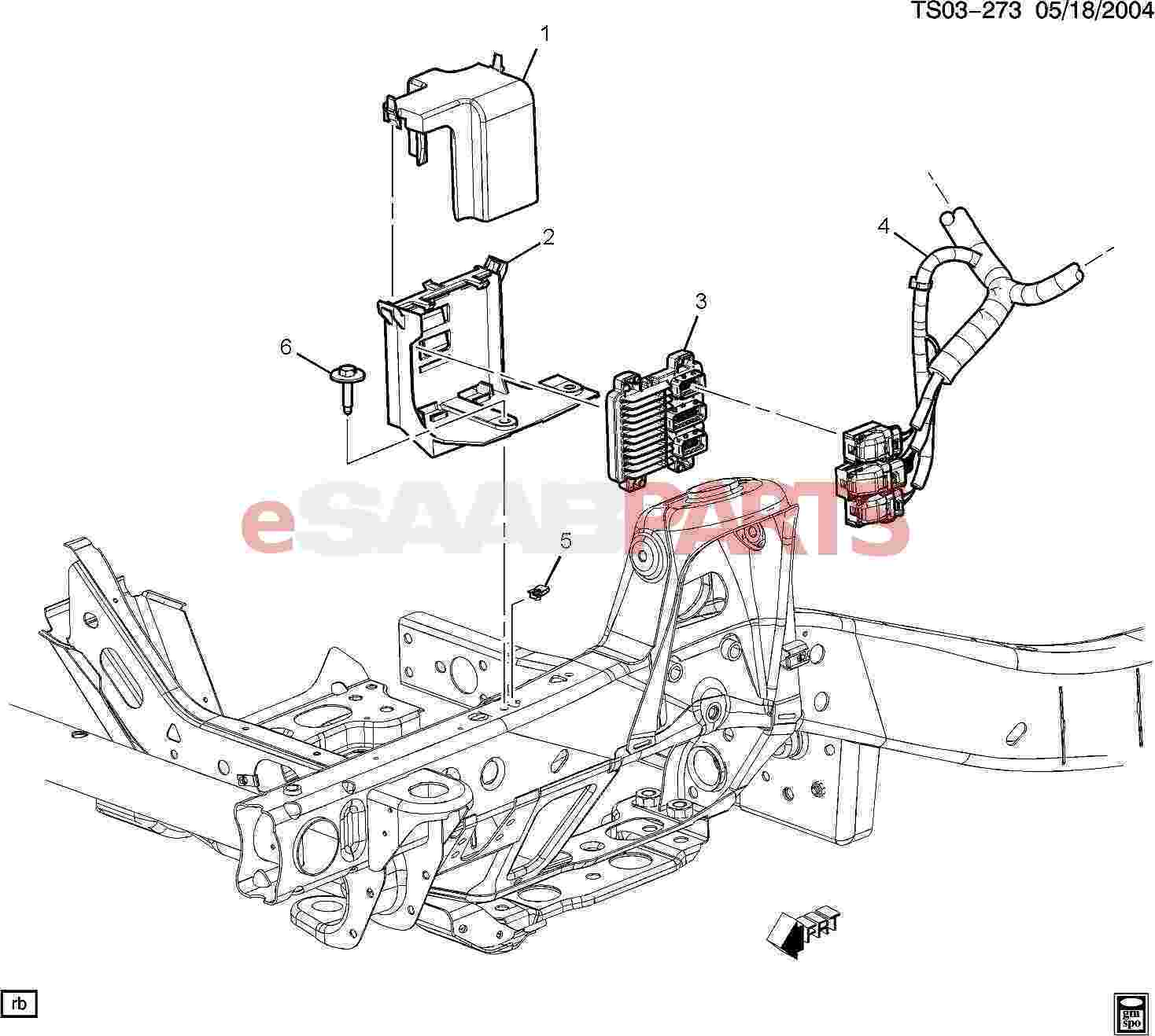 Saab Module Engine Cont