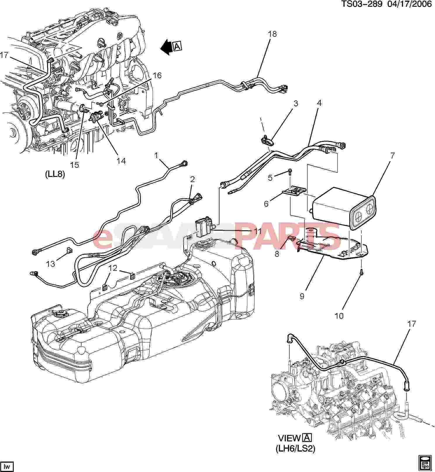 Chevrolet Trailblazer Engine Diagram