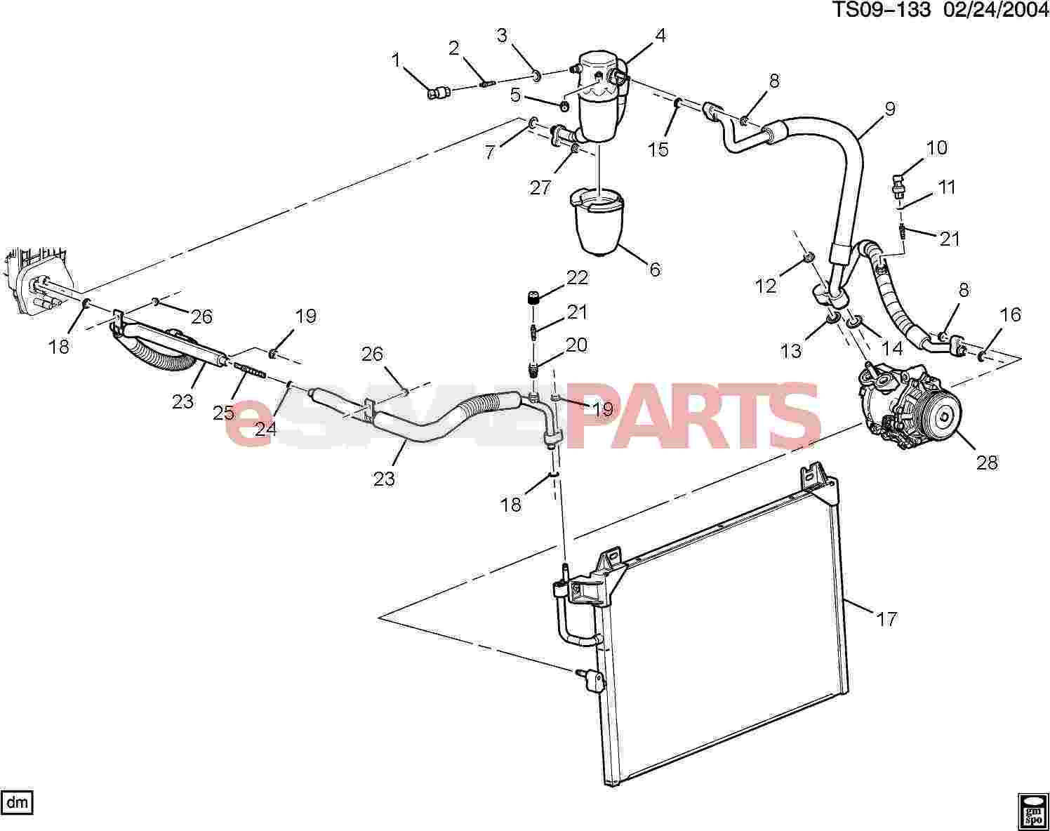 Saab Seal Ac Compressor Amp Cndsr Hose