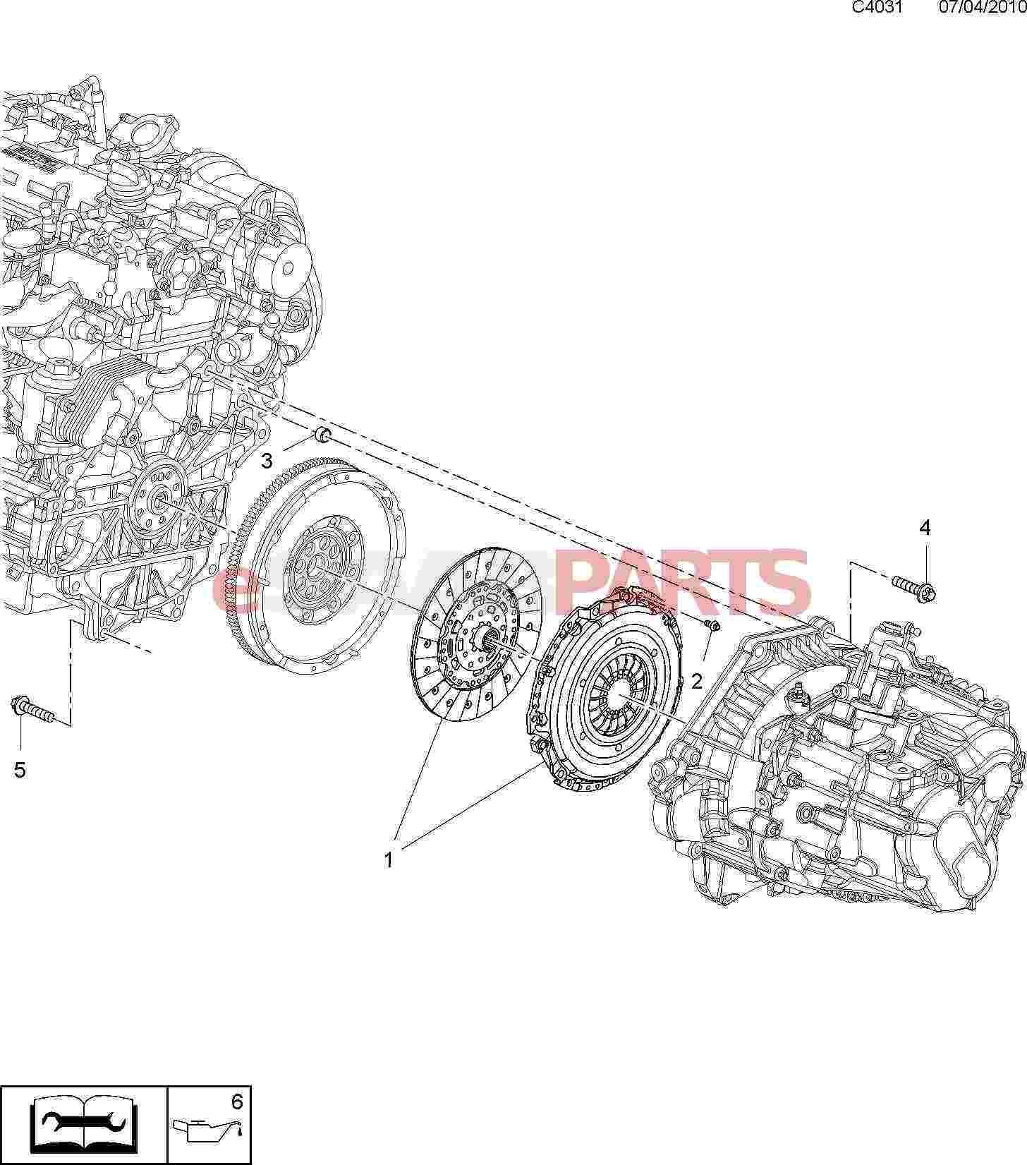 Saab Hexagon Screw