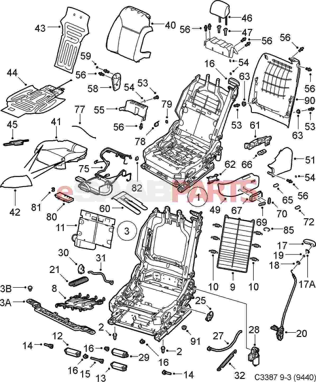 Saab Passenger Seat Occupancy Sensor