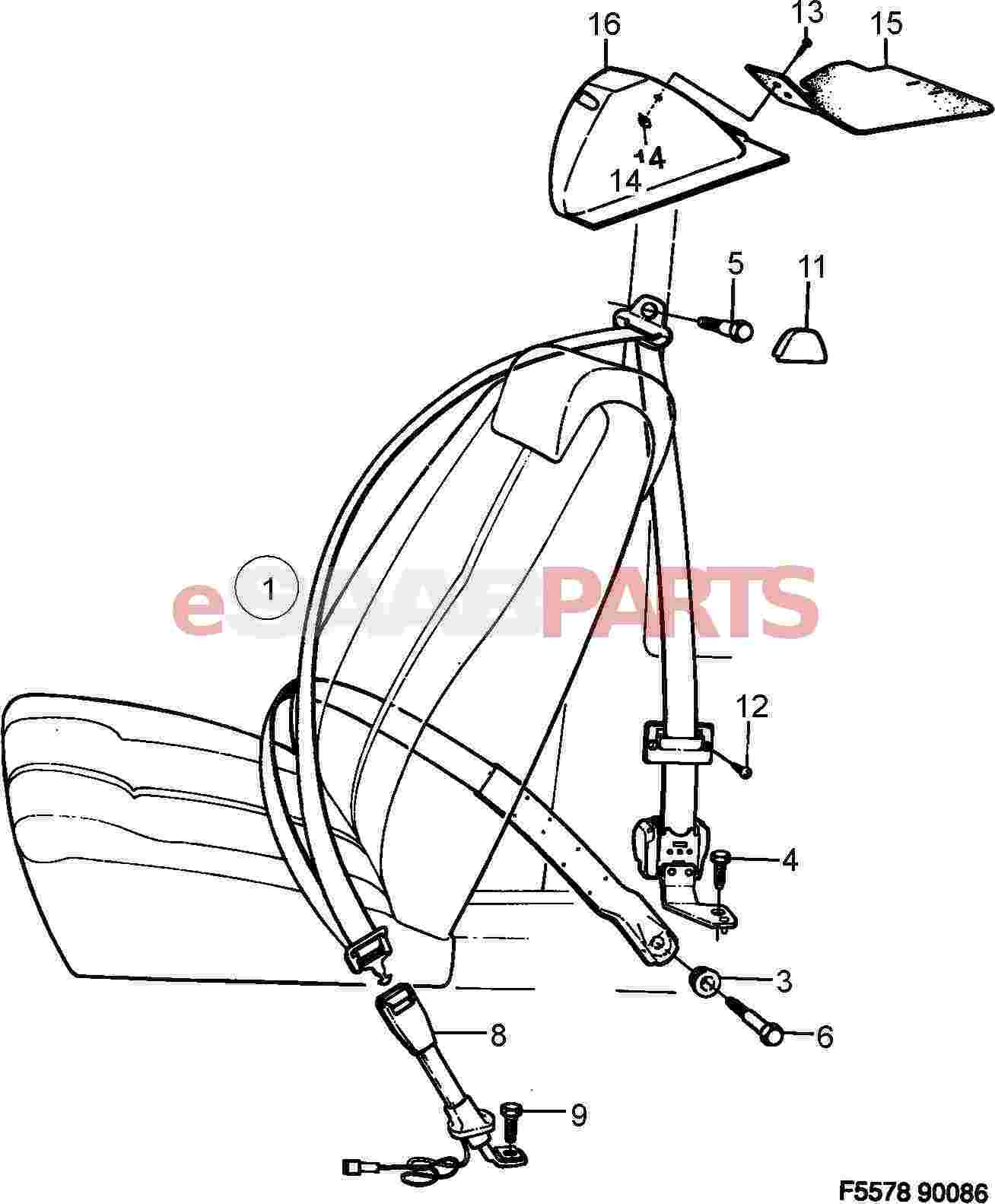 Saab Bearing Sleeve