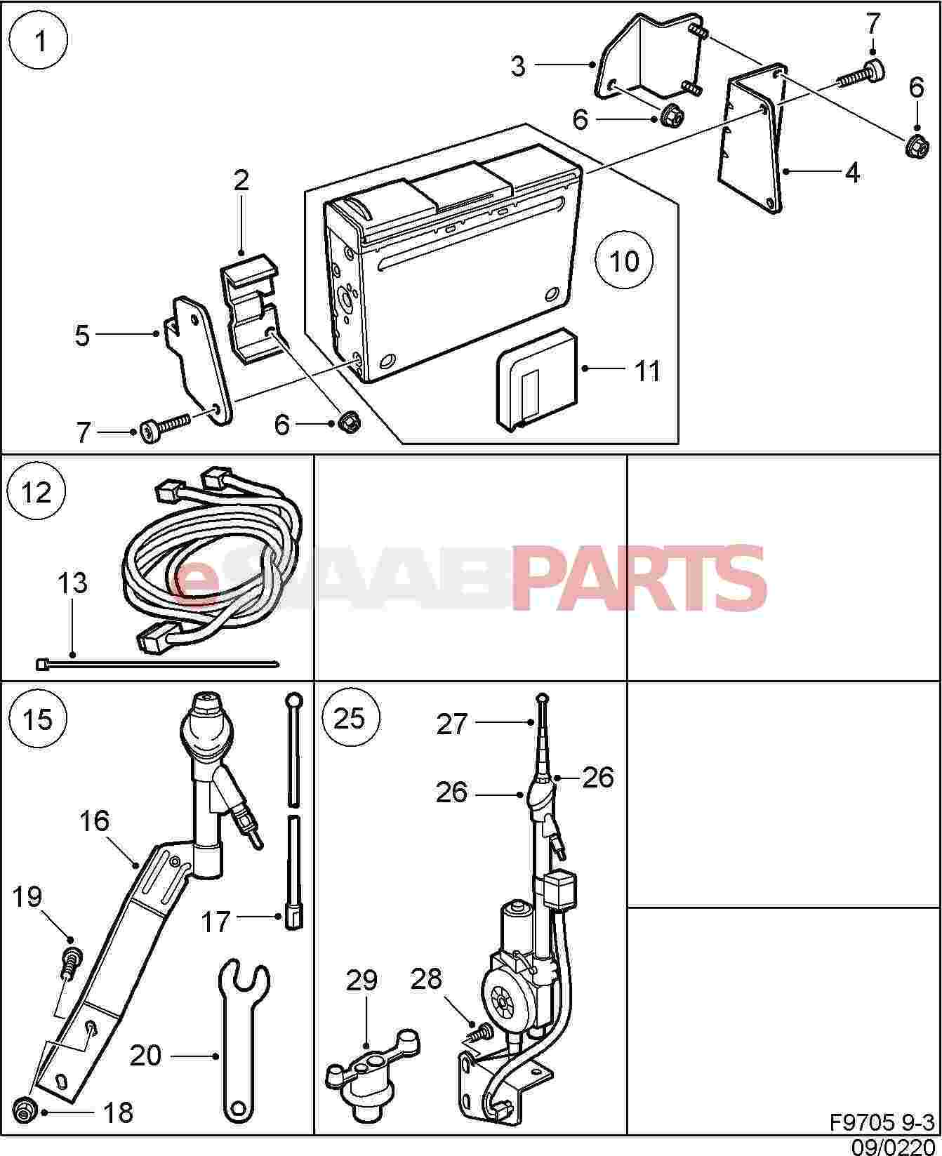 Saab Tie Strap Genuine Parts From Esaabparts Com Audio