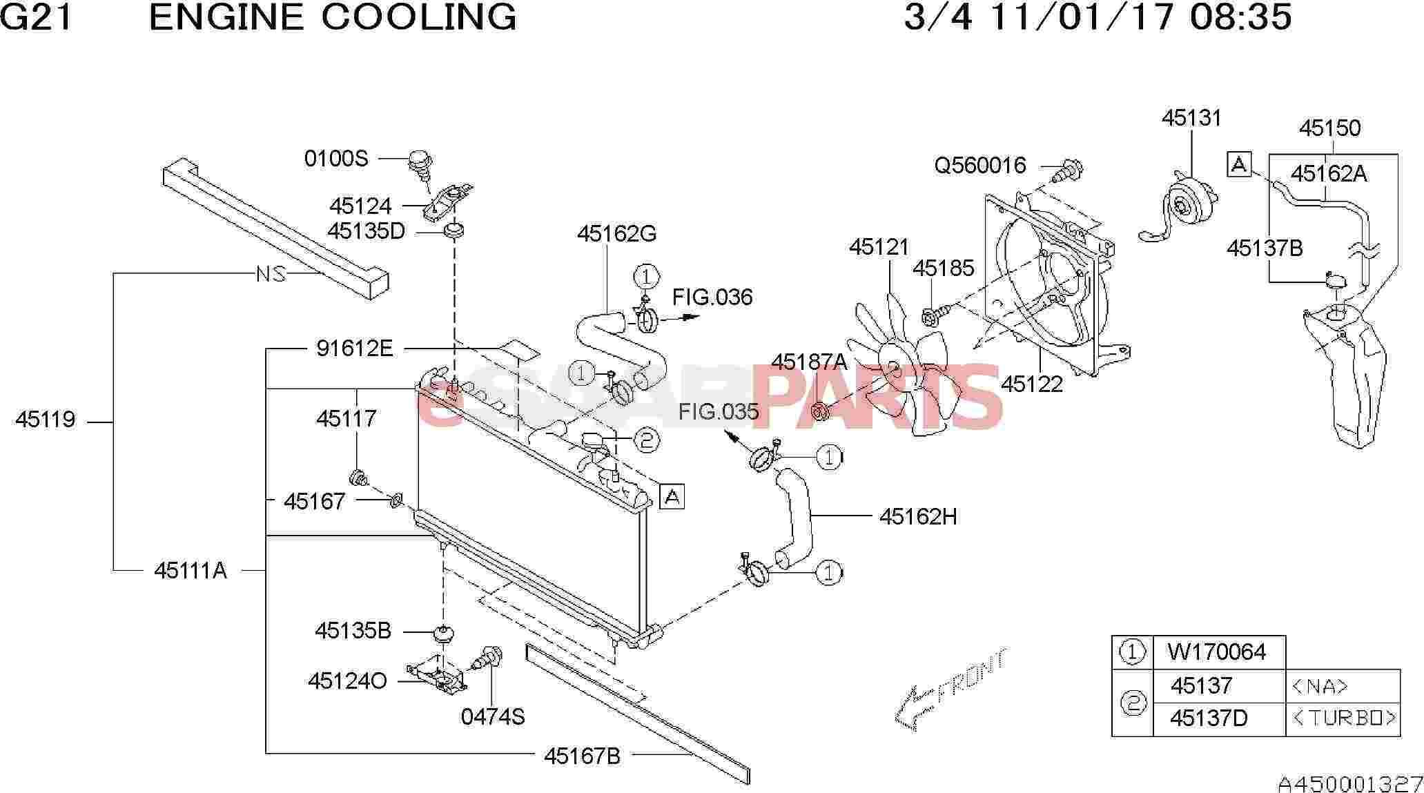 Saab Packing Radiator