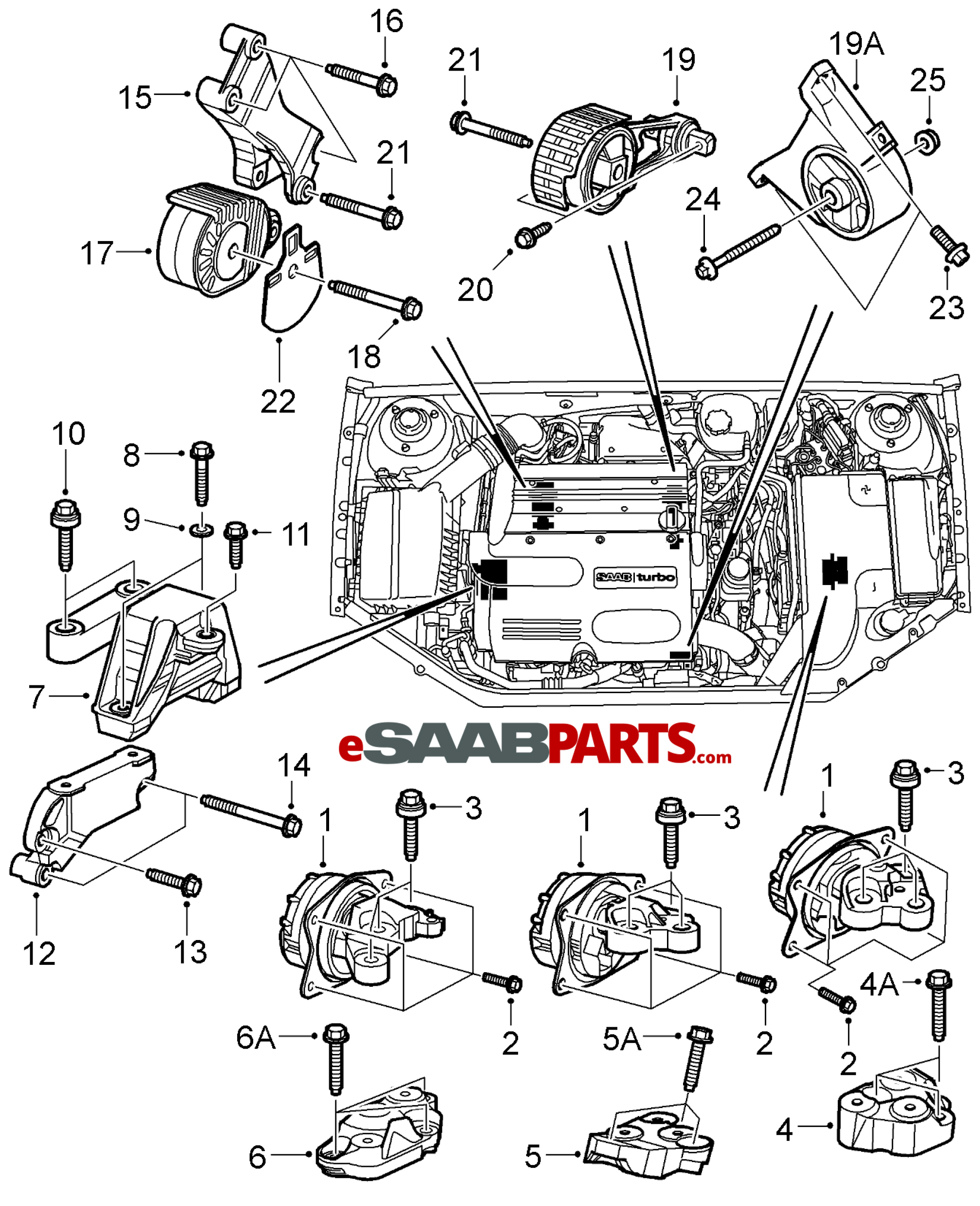 Audi A3 Engine Mount Diagram