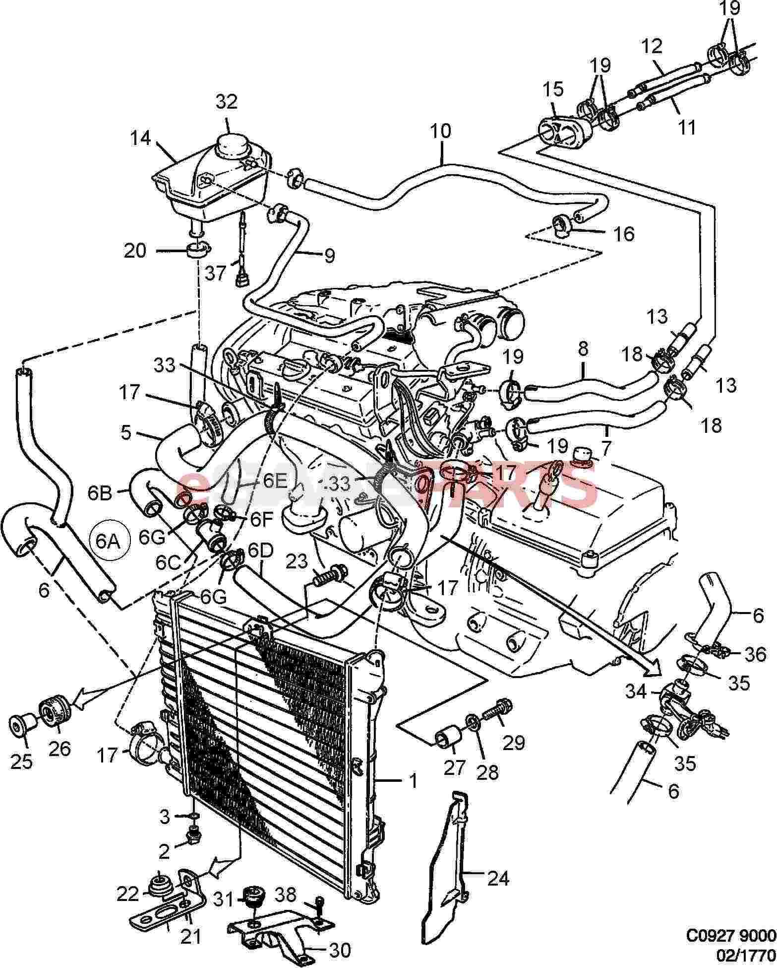 Saab Radiator