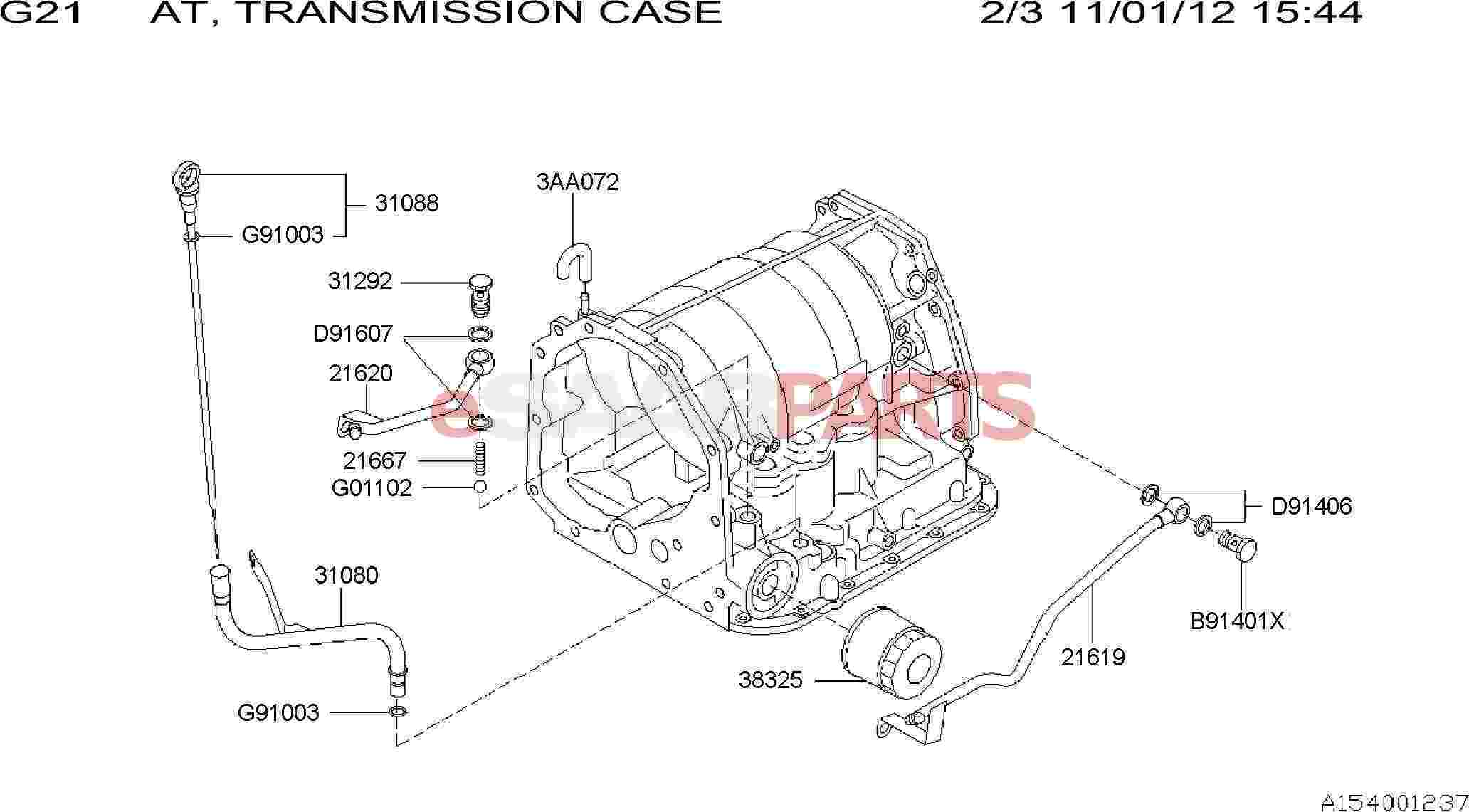 Saab Pipe Assembly Oil Charging