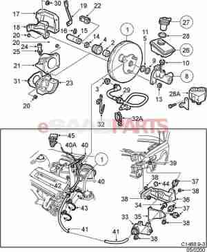 [4543922] SAAB Lock Nut  Genuine Saab Parts from