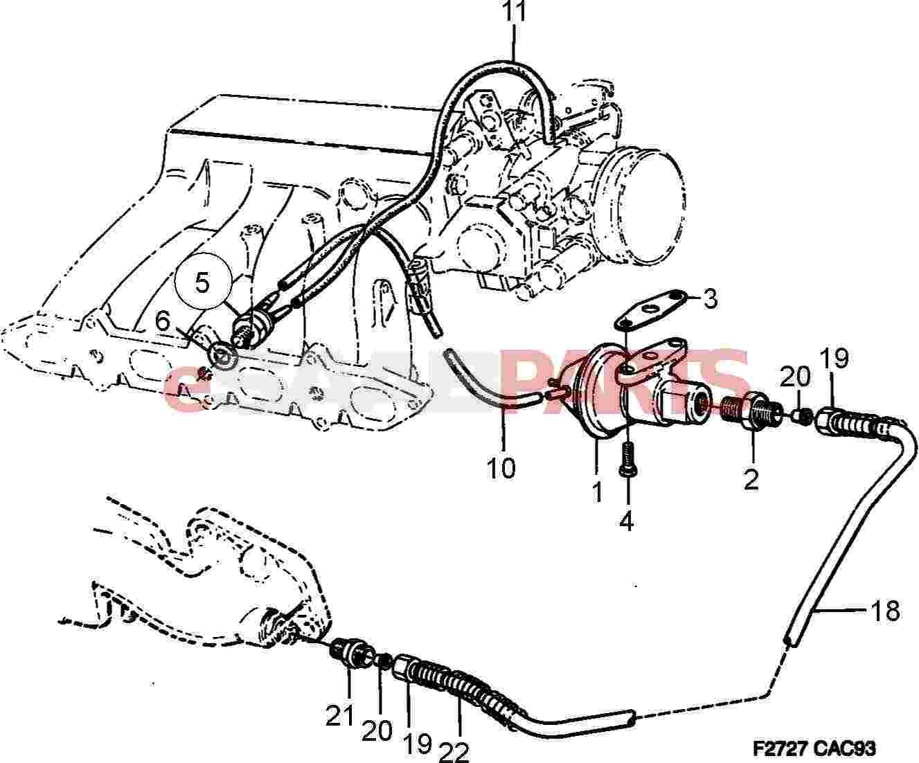 Saab Exhaust Gas Recirculation Valve