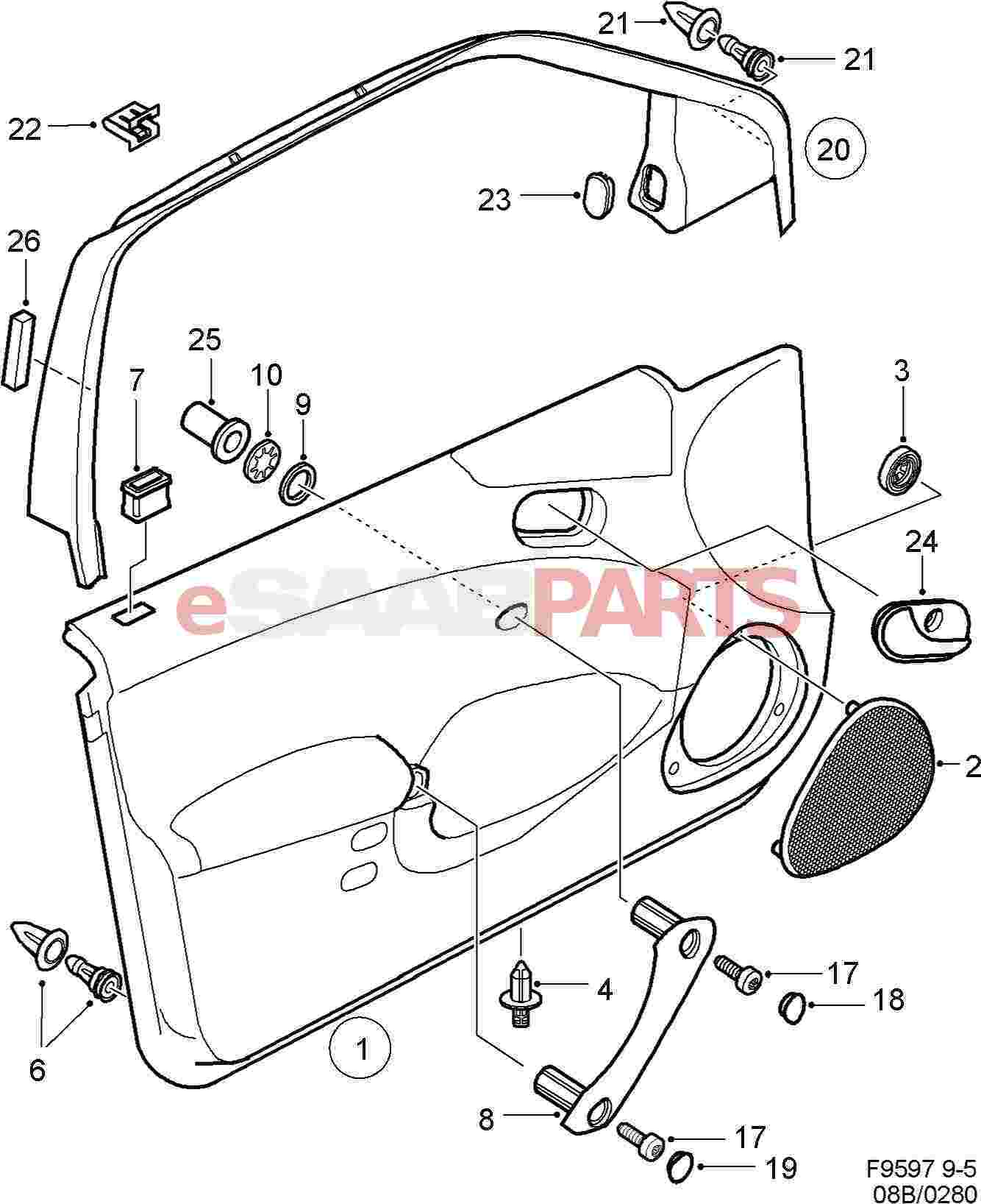 Saab door diagram diy wiring diagrams