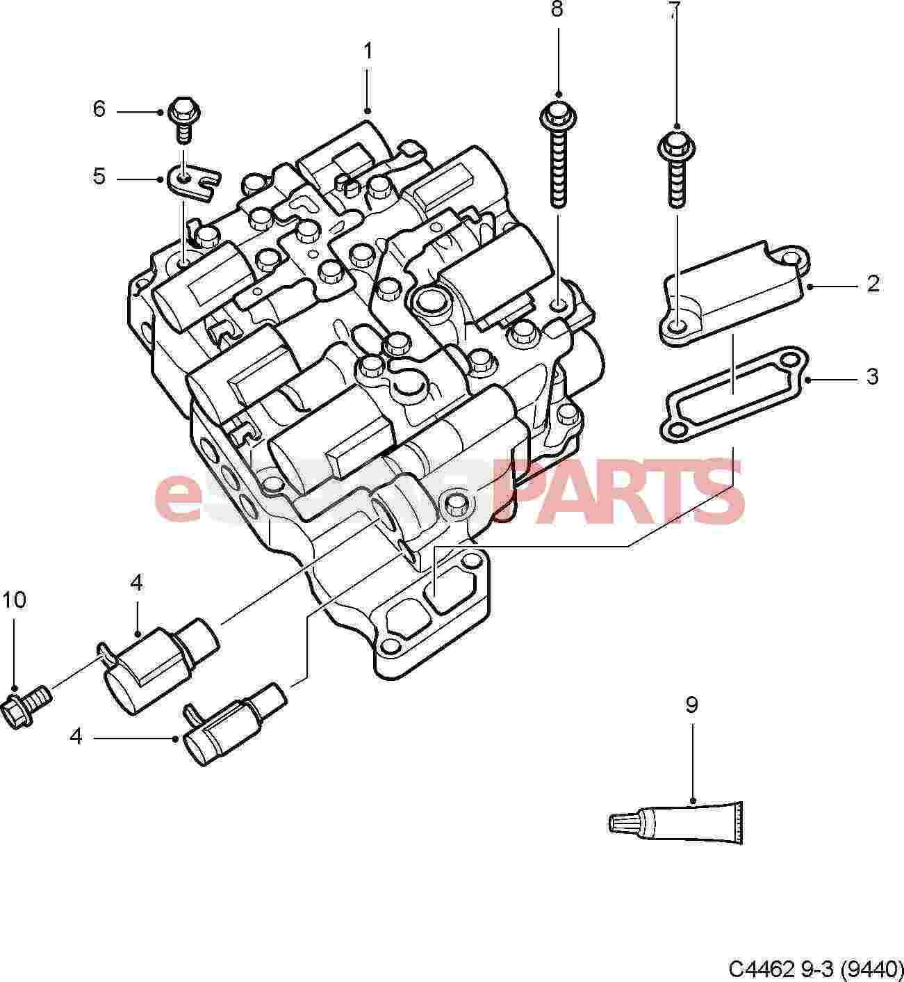Saab 9 3 2 0l Turbo Serpentine Belt Diagram